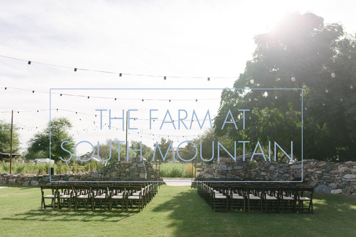 the farm at south mountain wedding by Alyssa Campbell Photography