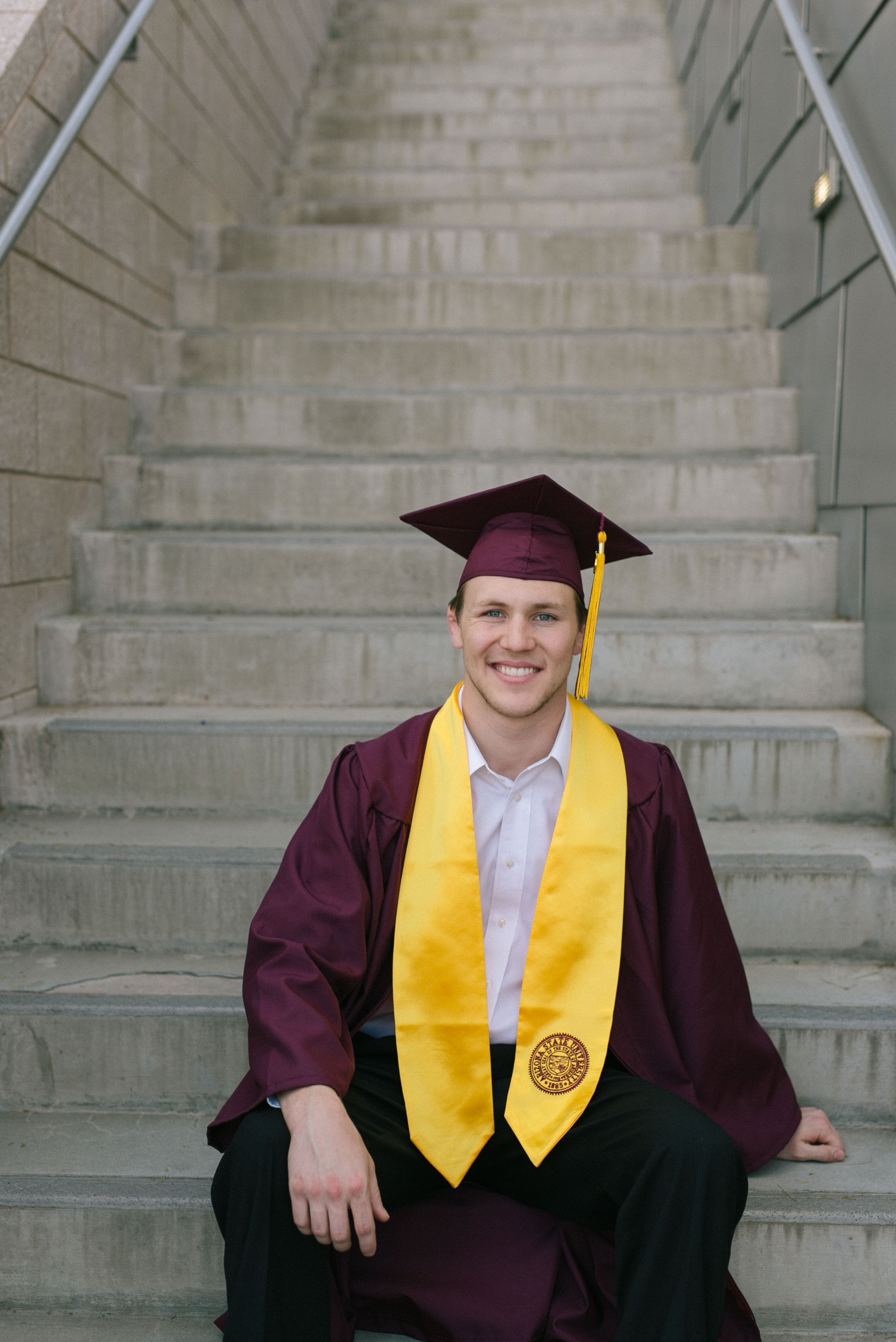 Arizona State University college senior guy