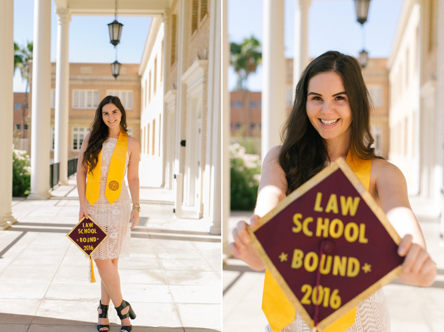 Tempe college senior portraits
