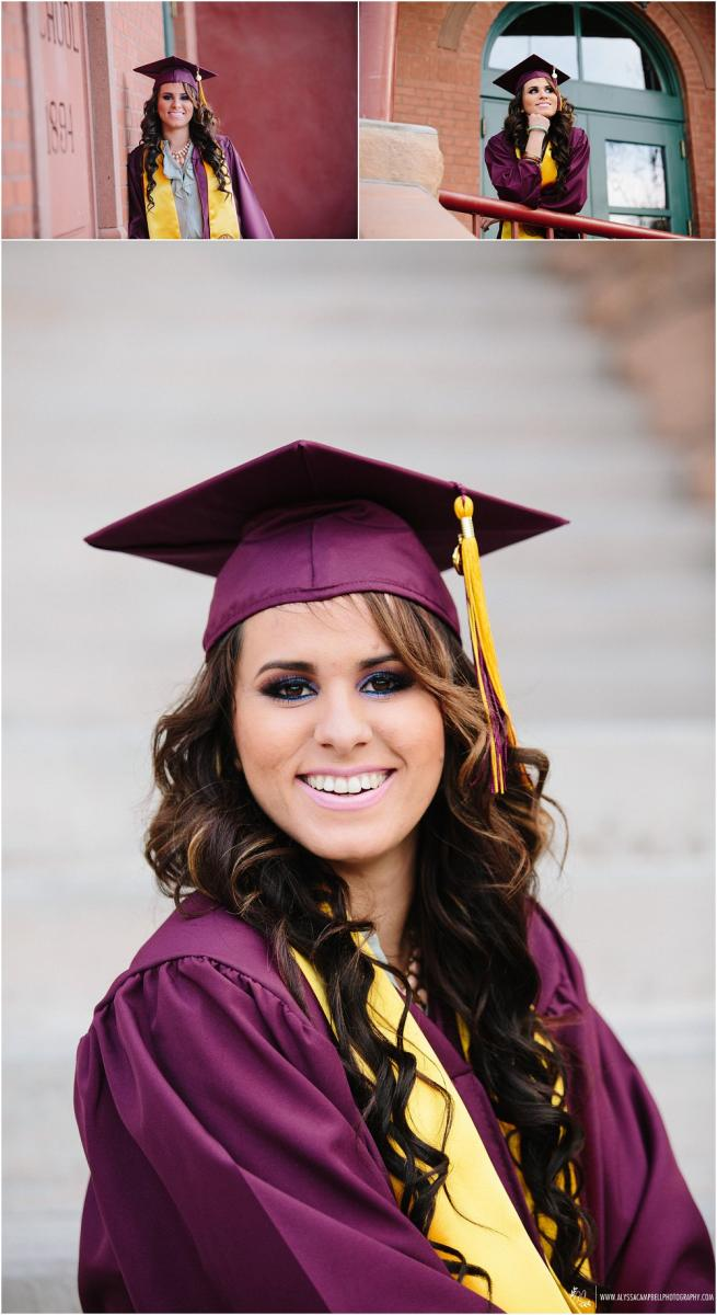 Nice Asu Cap And Gown Image - Long Formal Dresses Evening Dresses ...