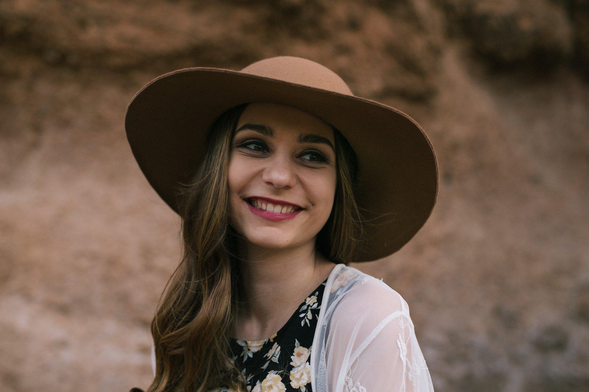 arizona senior portrait session in mountains