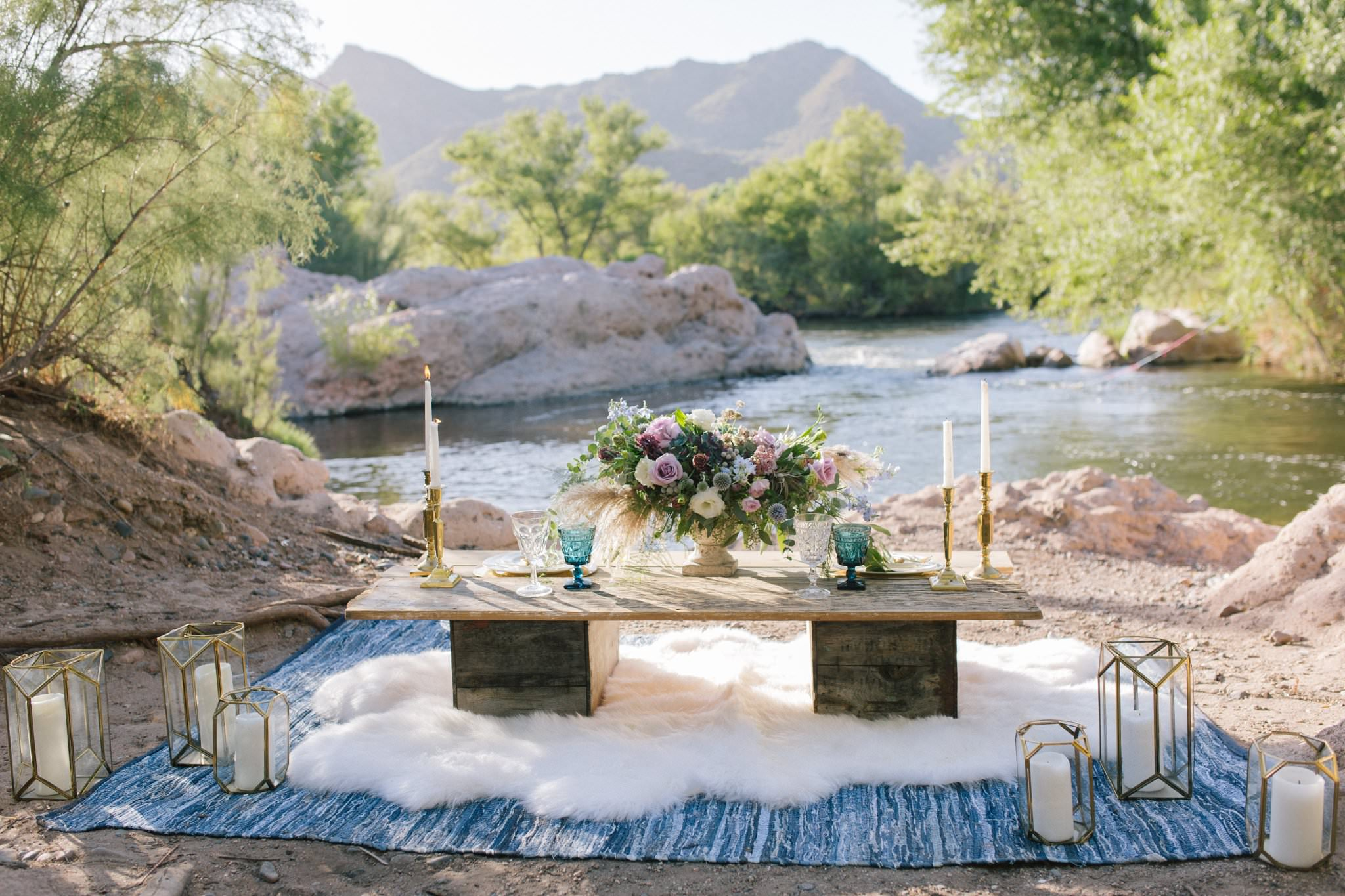 arizona salt river elopement wedding