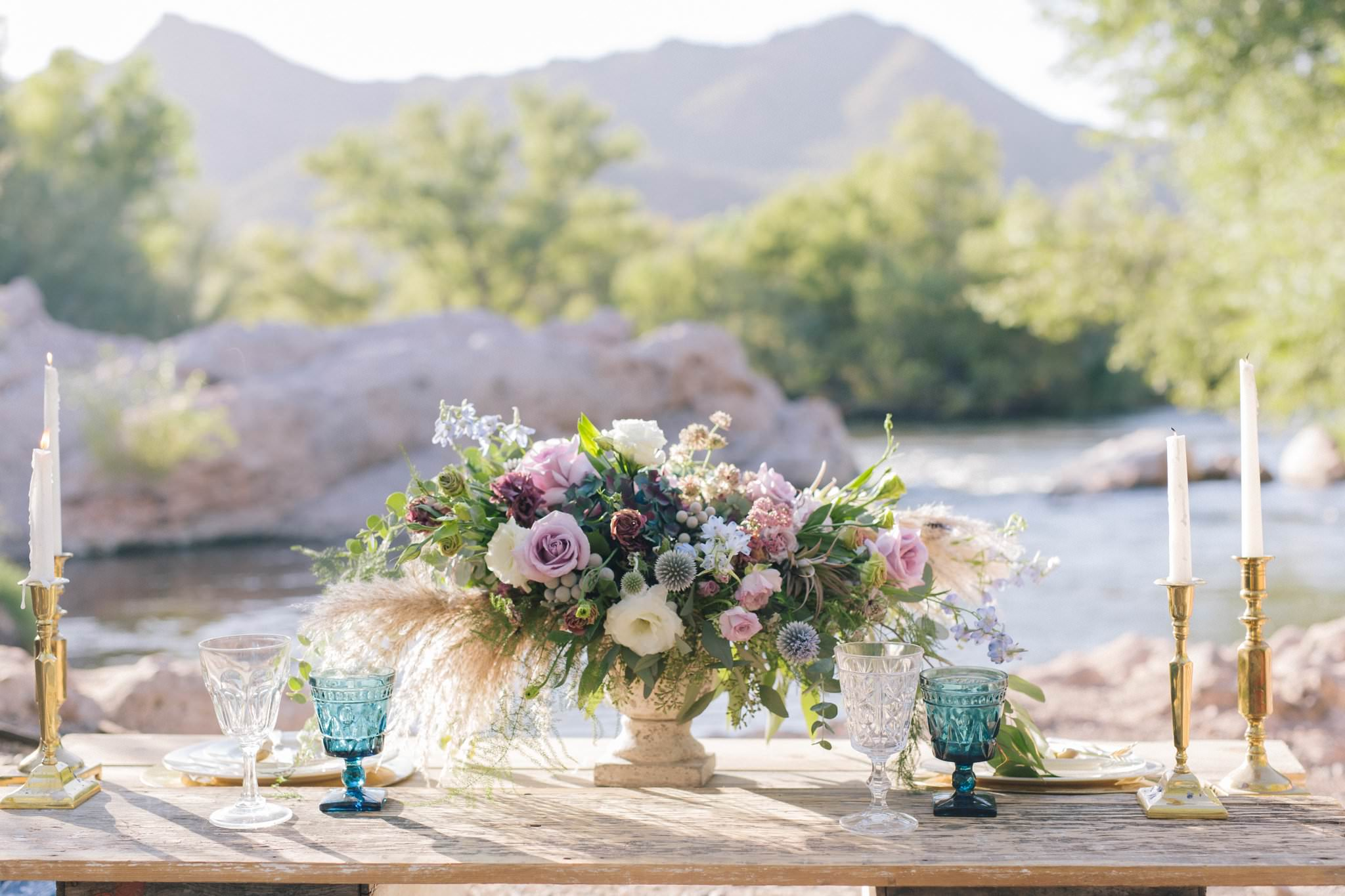 Arizona Salt River rustic wedding inspiration