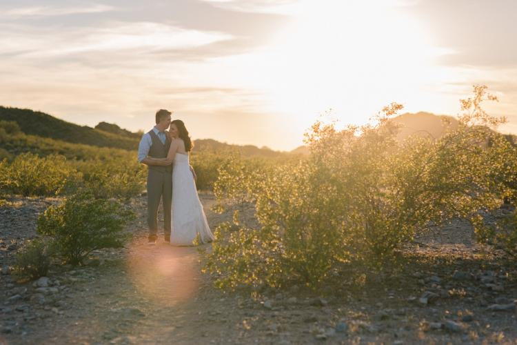 Phoenix outdoor mountain elopement photographer