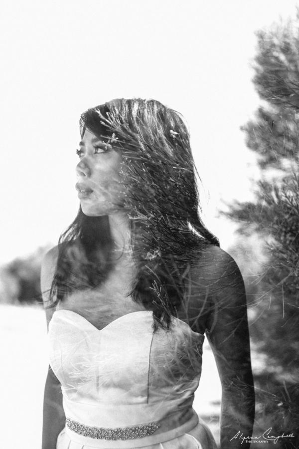 double exposure filipino bride