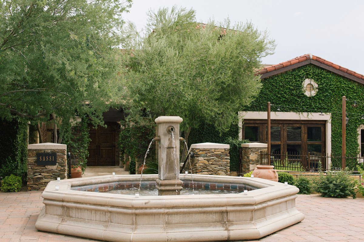 Sassi Tuscan villa style wedding venue in Scottsdale AZ