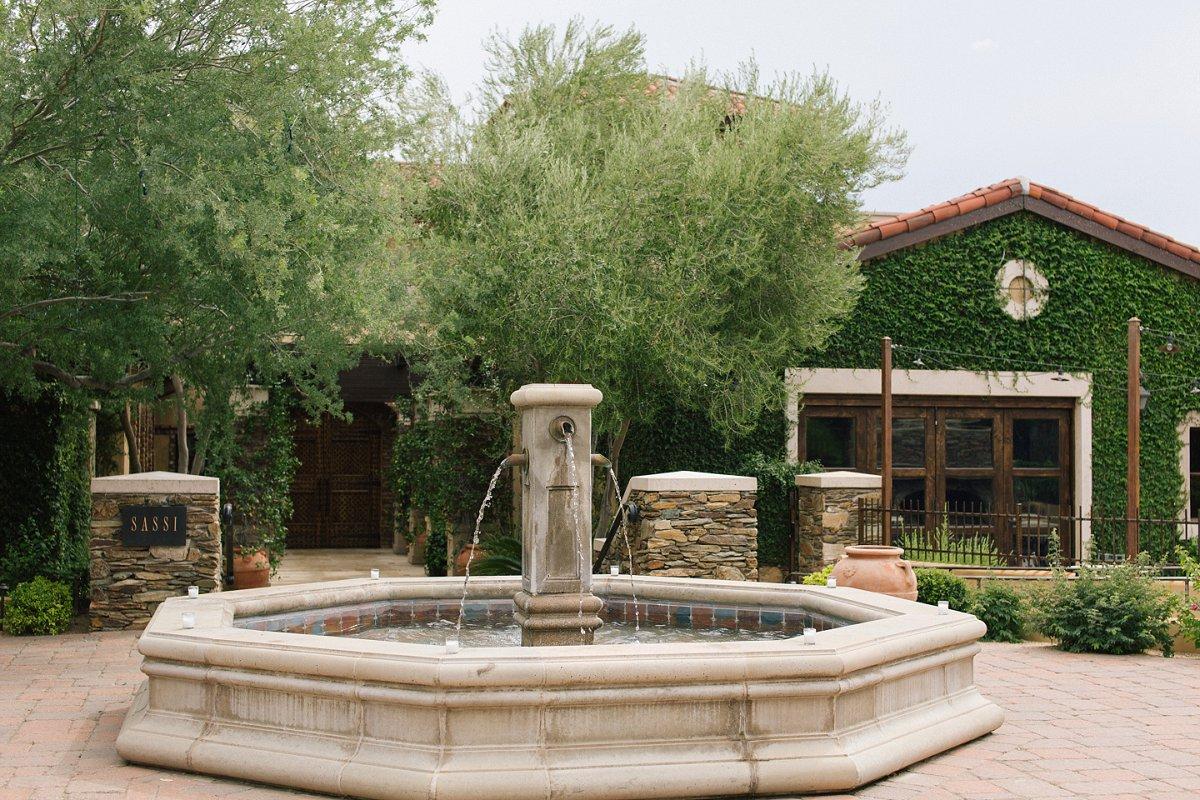 Sassi Tuscan villa style wedding venue in Scottsdale AZ