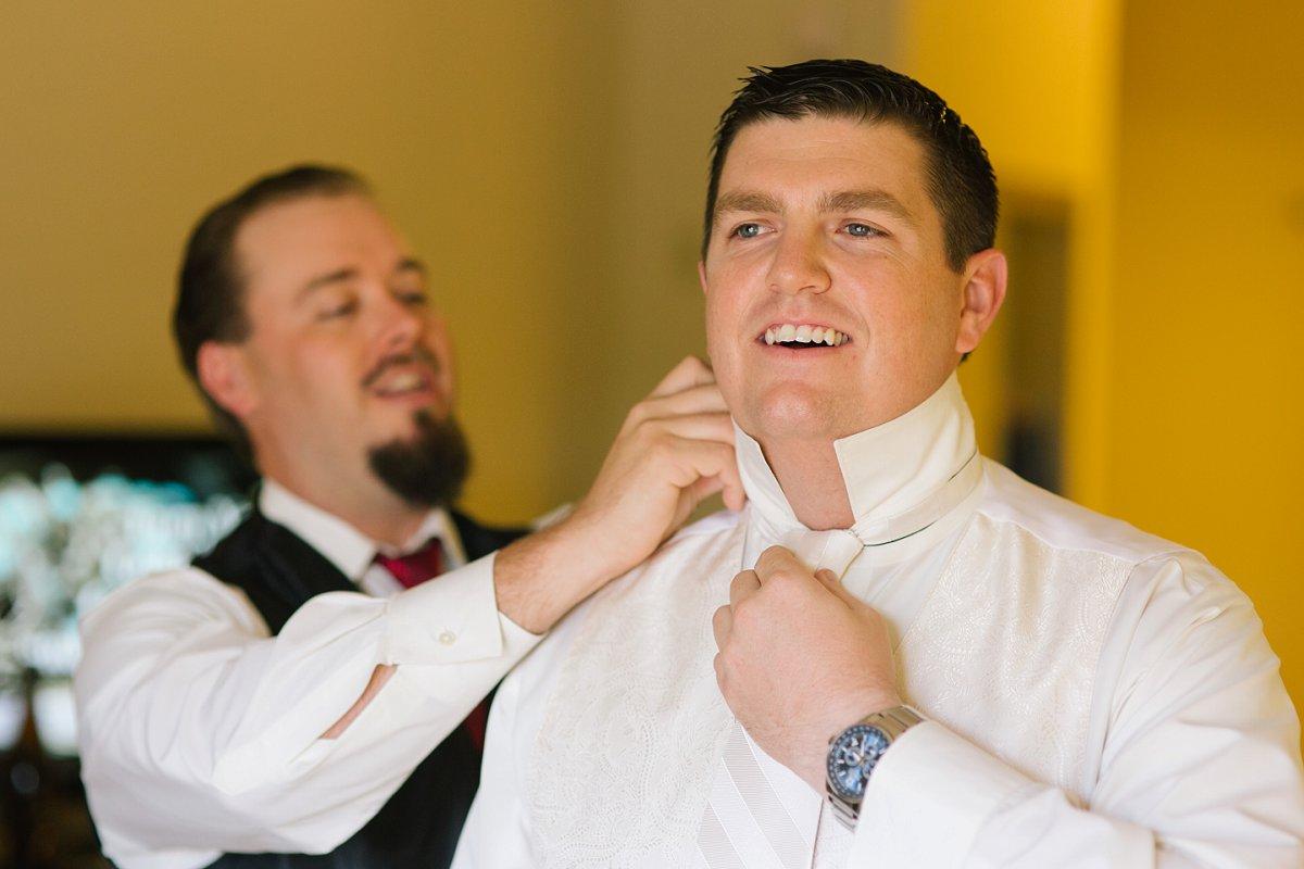 groom getting ready Sassi wedding