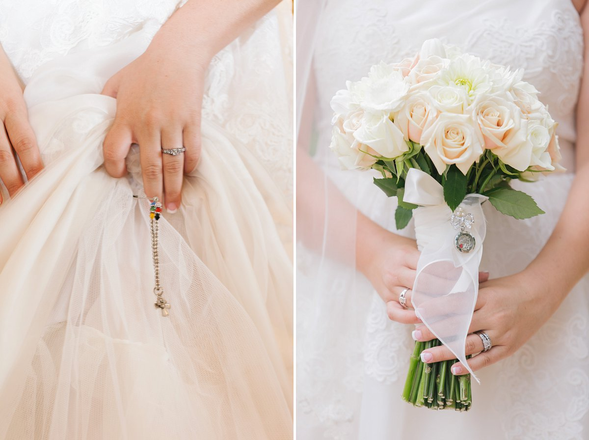 bridal details at Sassi weddings Scottsdale