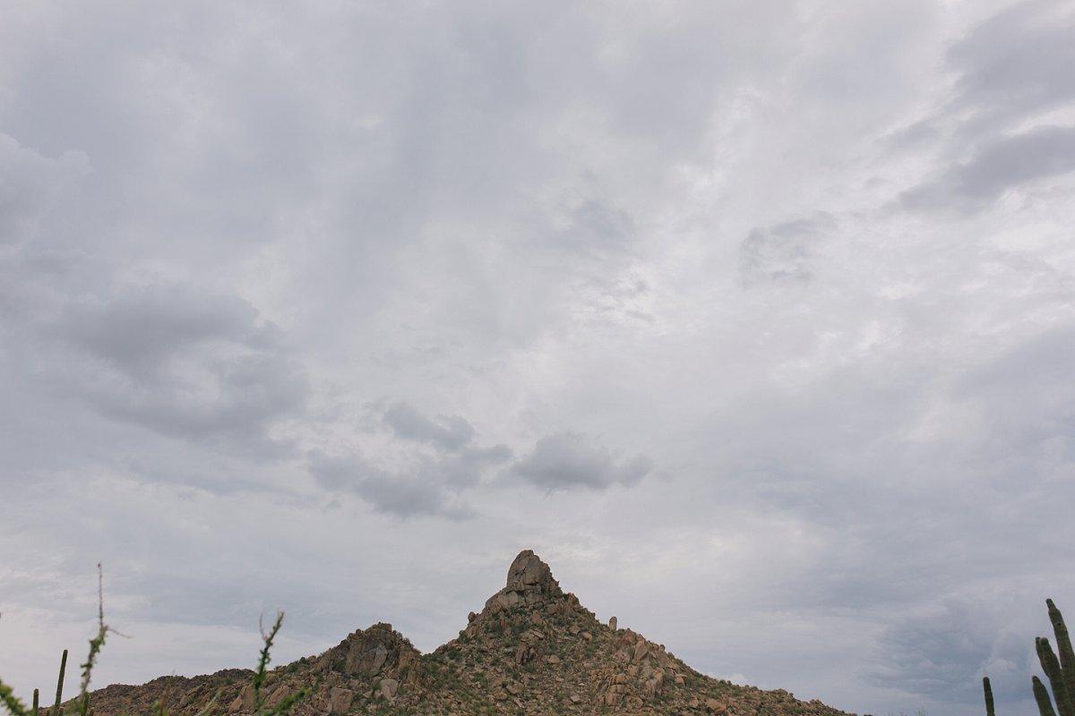 rainy pinnacle peak Scottsdale AZ