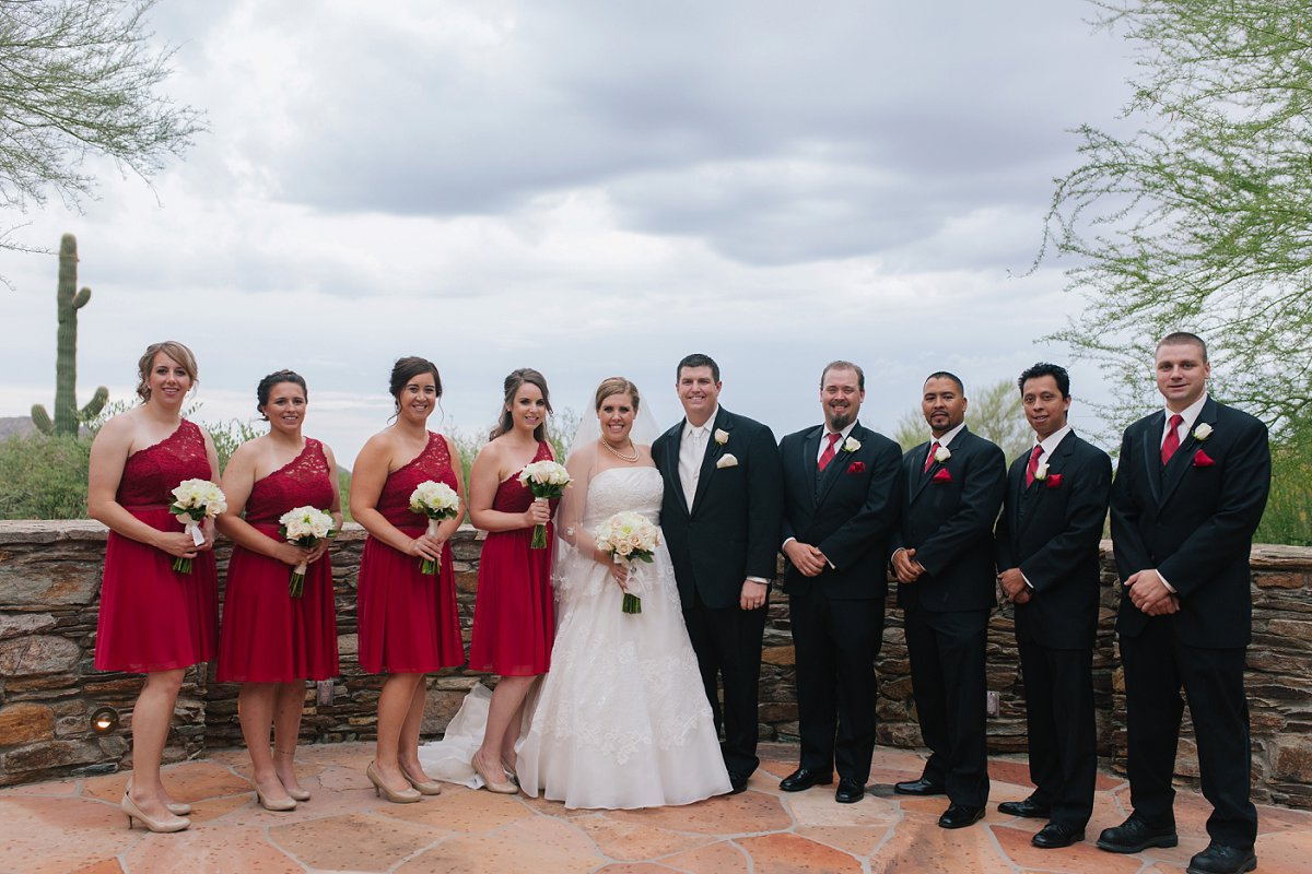 red & white classic wedding at Sassi