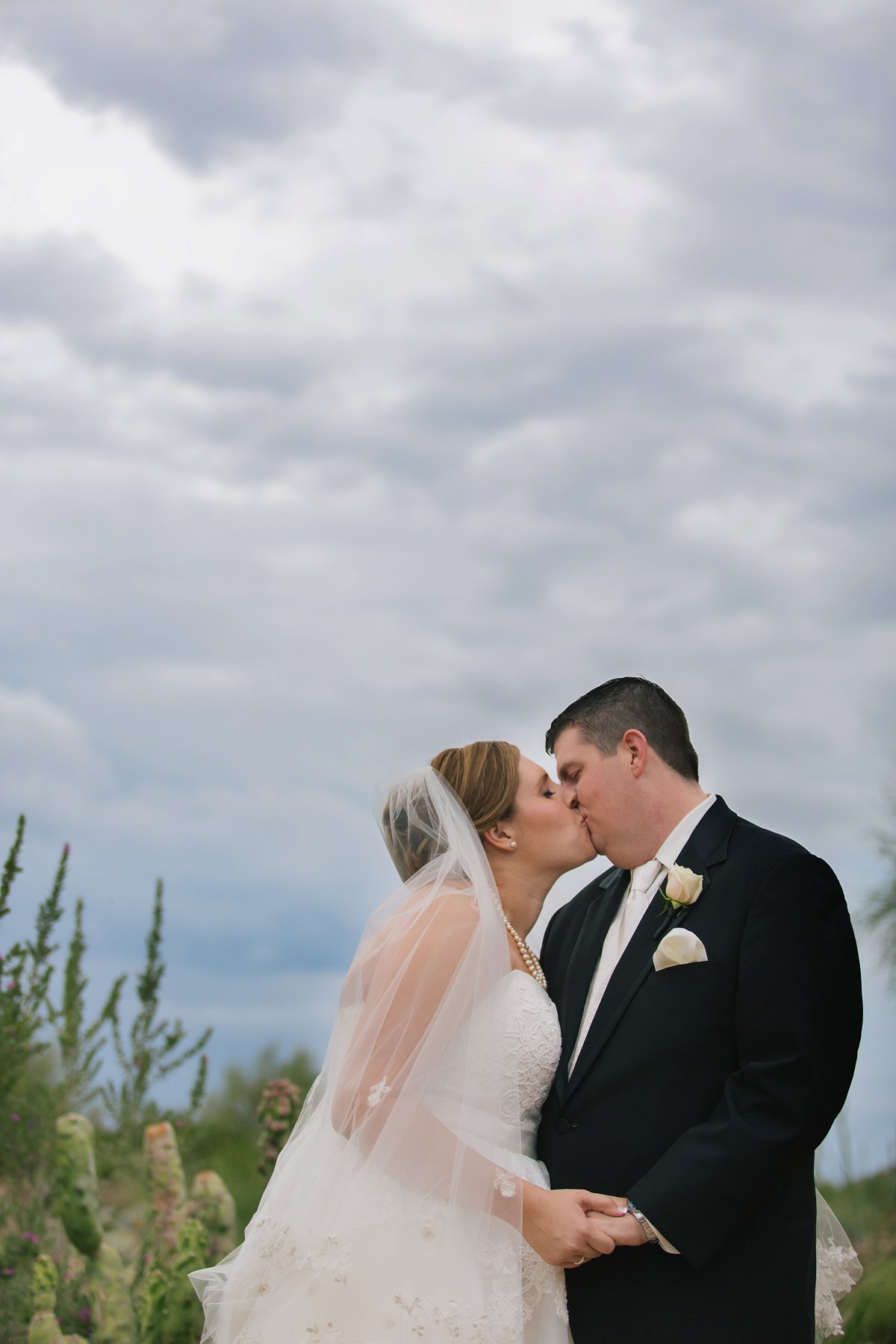 rainy desert wedding at Sassi