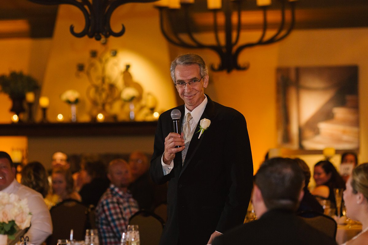 father toast at Sassi wedding