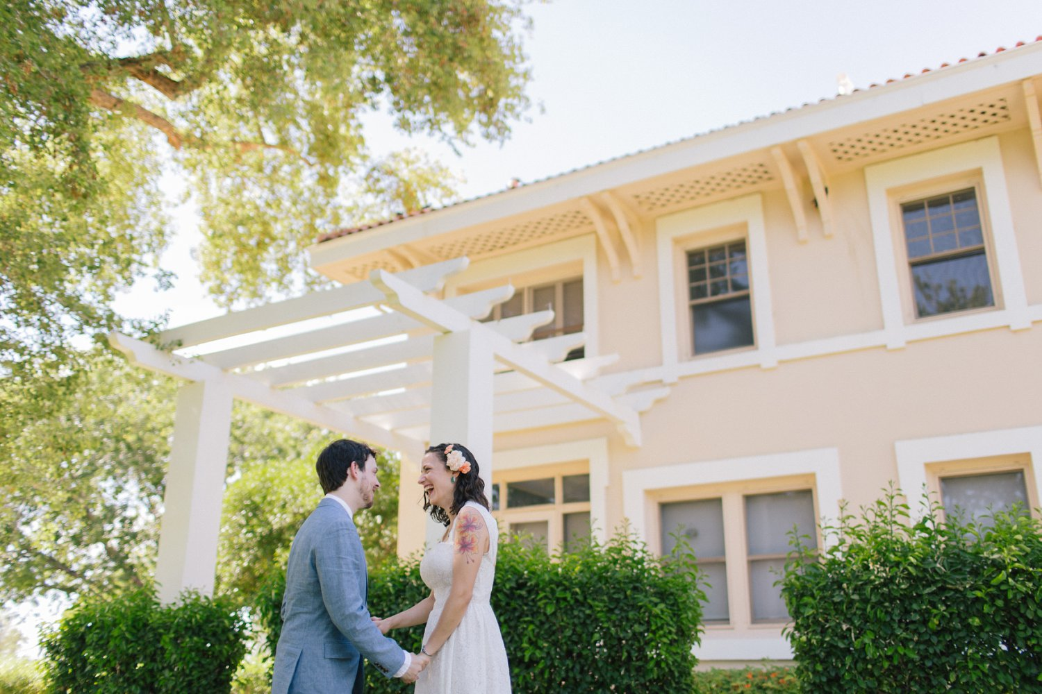 joyful candid wedding photos Phoenix wedding photographer