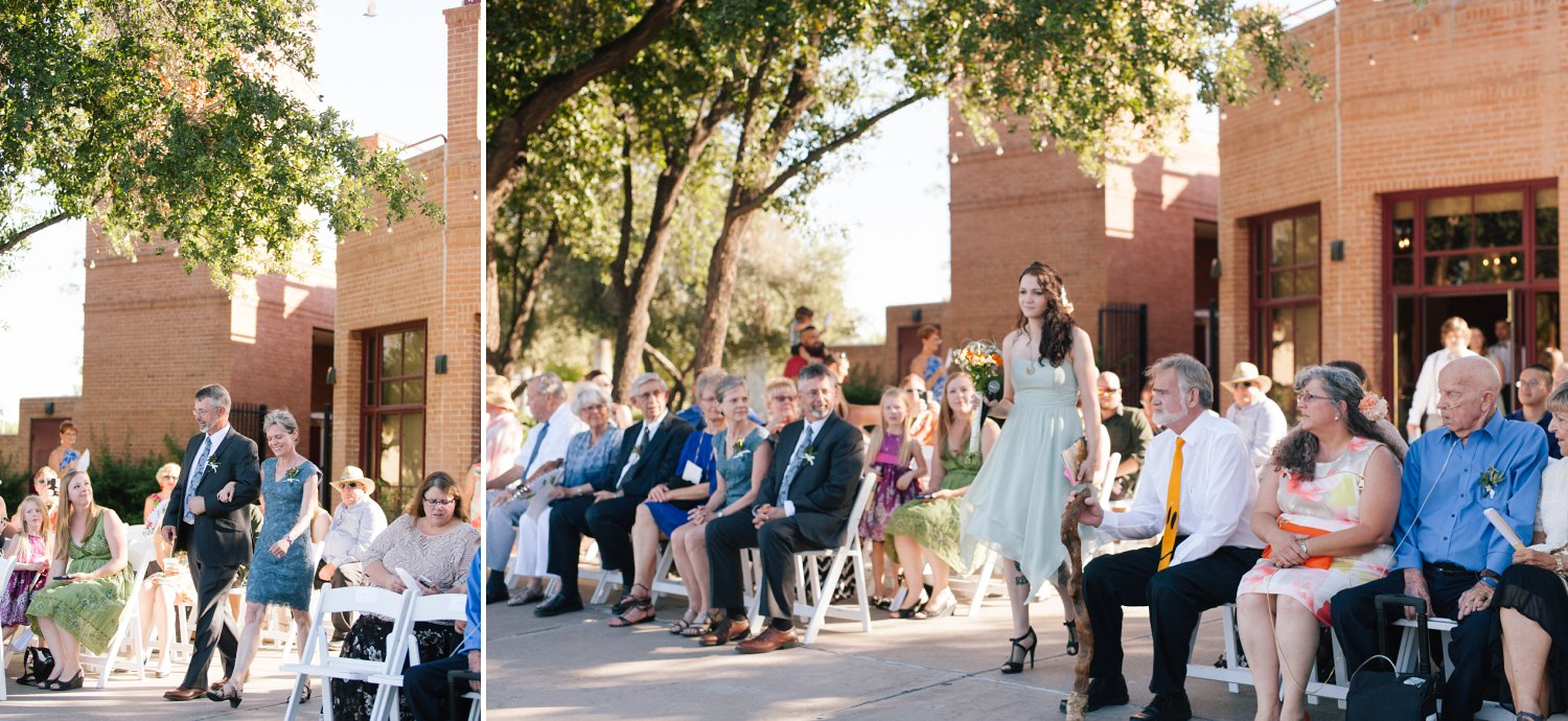 Encanto Park Wedding Ceremony Phoenix Az