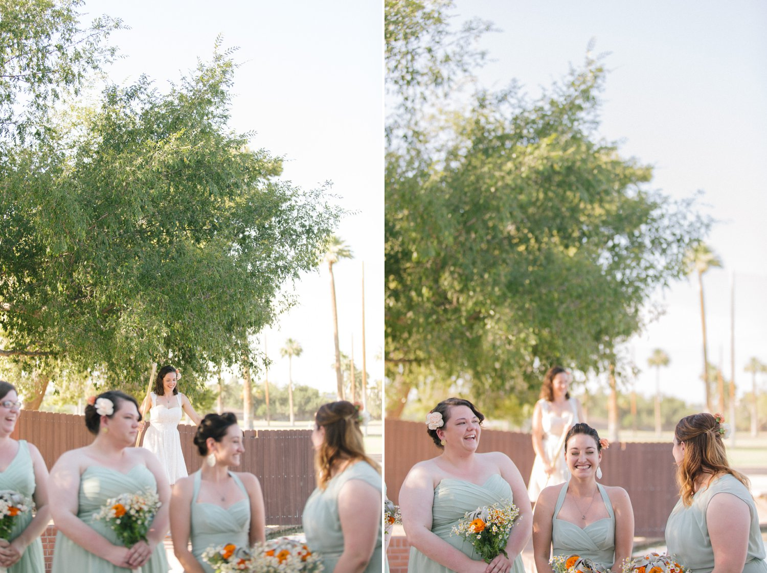 Encanto Park wedding candid moments photographer Arizona