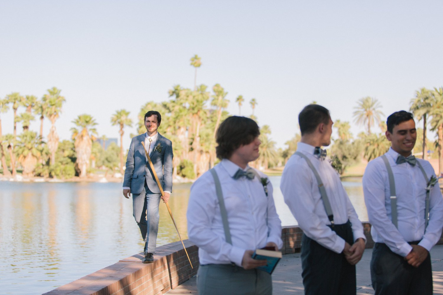 Encanto Park wedding ceremony Phoenix
