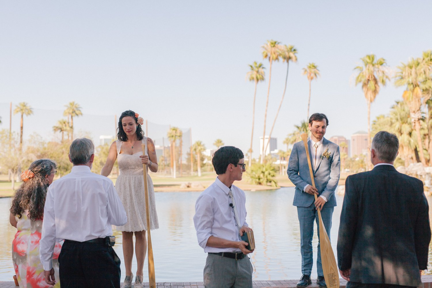 Encanto Park candid documentary wedding