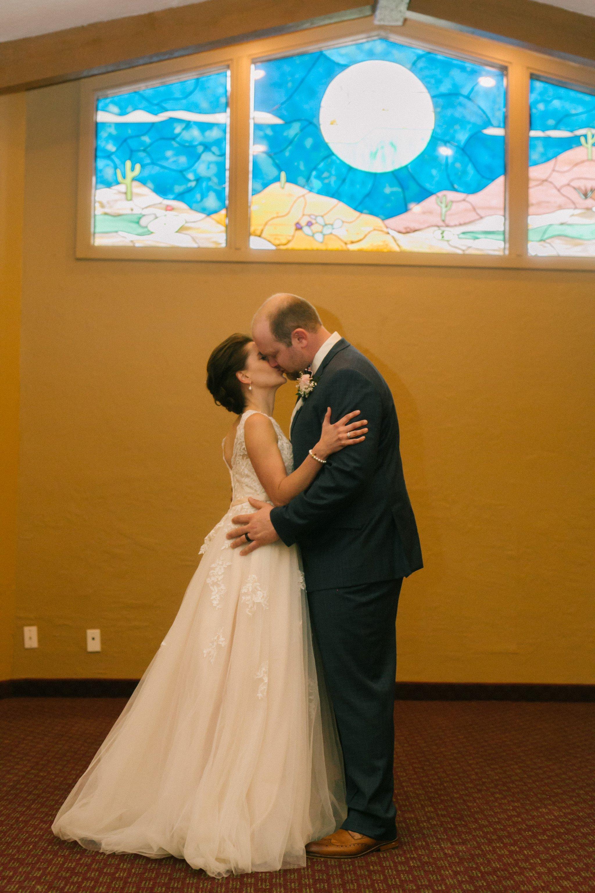 Gold Canyon Resort indoor chapel ceremony