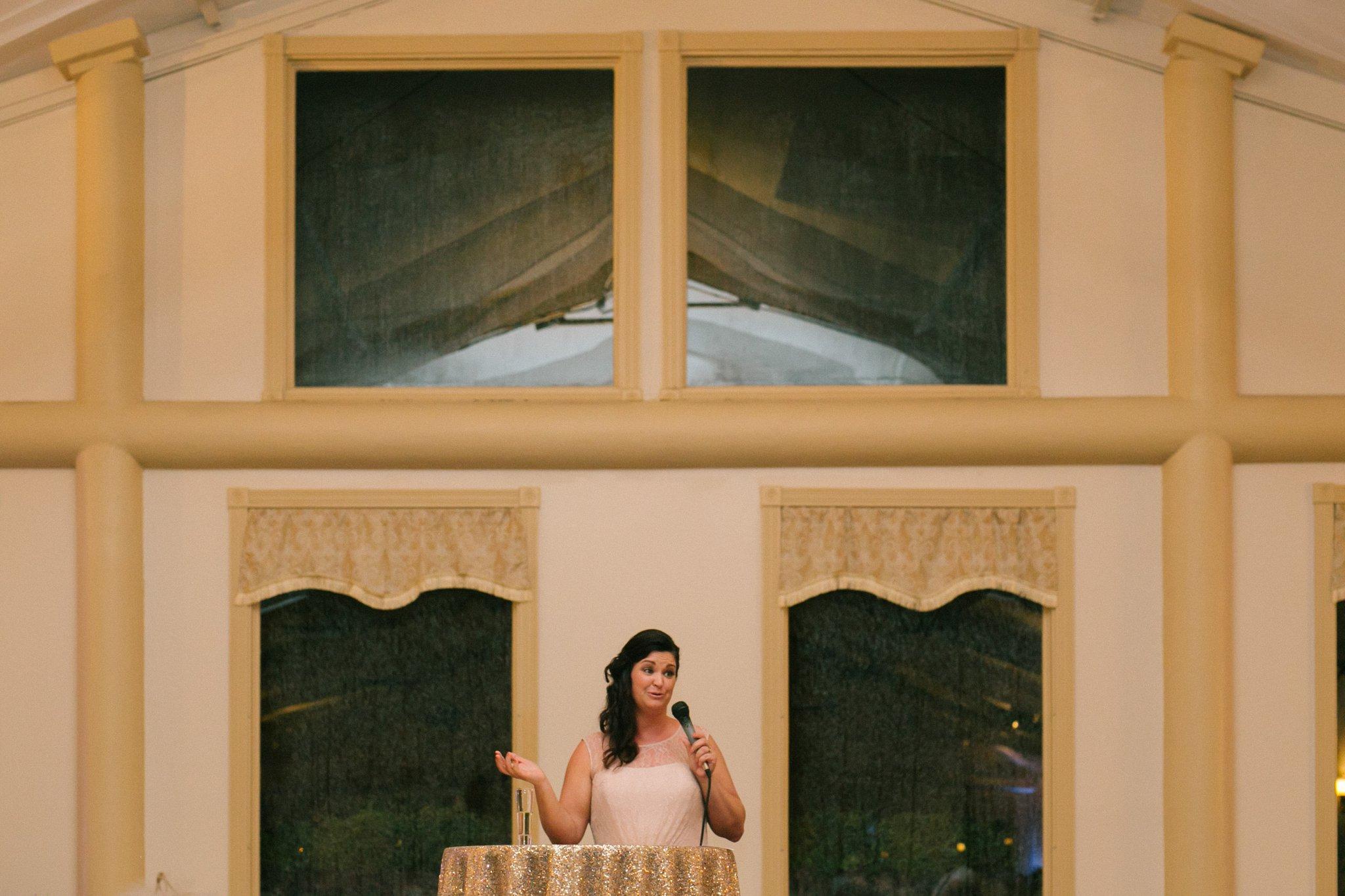 Gold Canyon Golf Resort wedding reception toasts