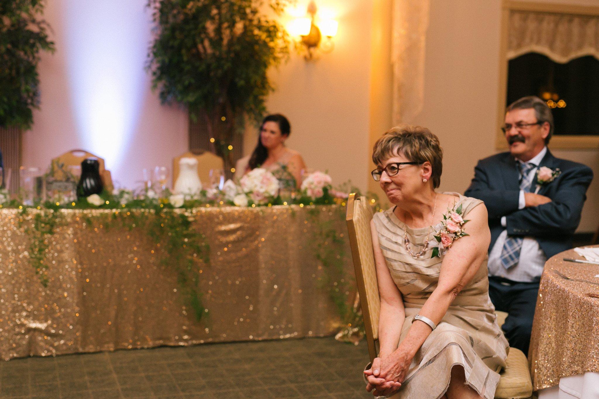 Gold Canyon Golf Resort & Spa wedding reception toasts