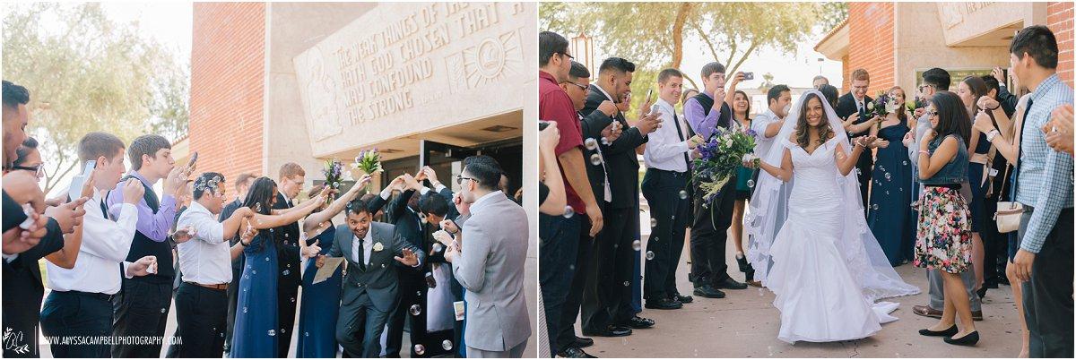 Catholic church ceremony & Phoenix Art Museum wedding