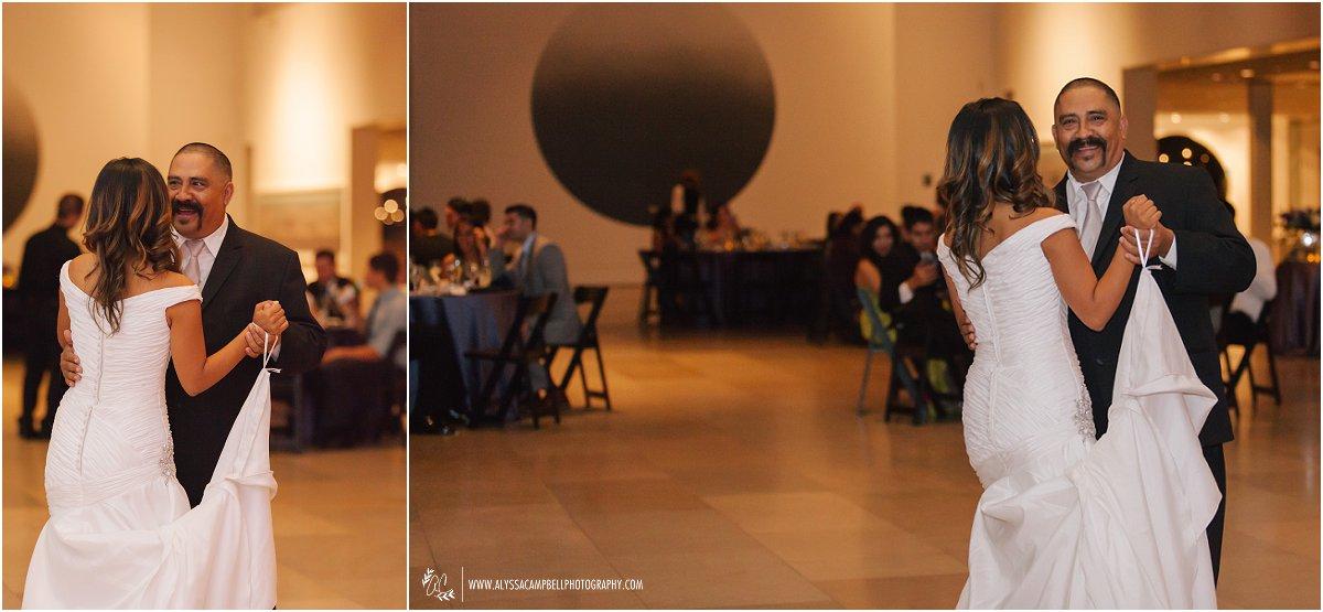 Phoenix Art Museum wedding reception