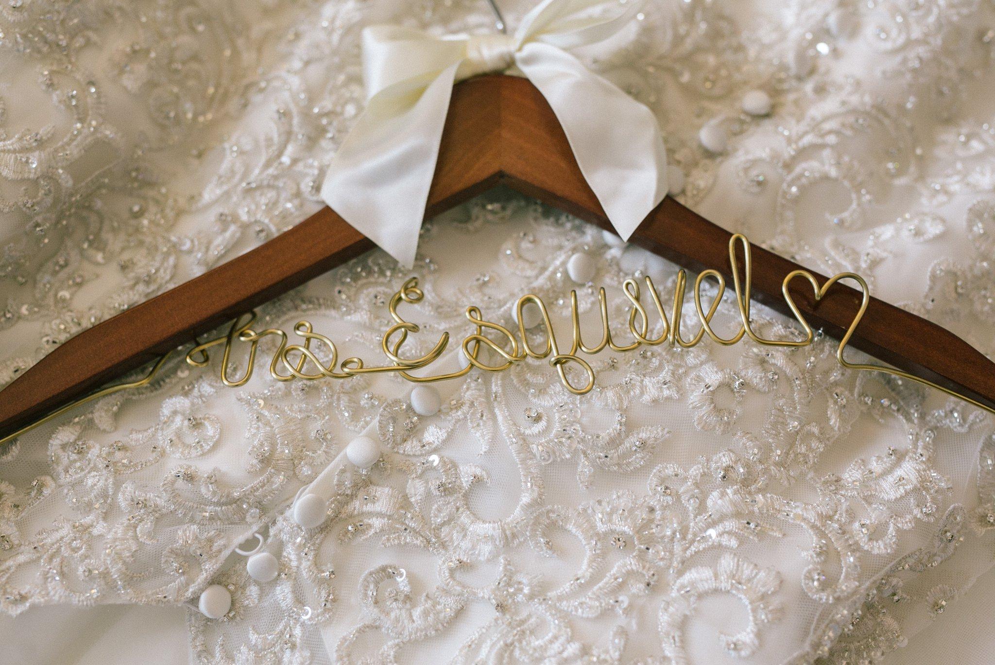 Phoenix wedding Mrs wire hanger
