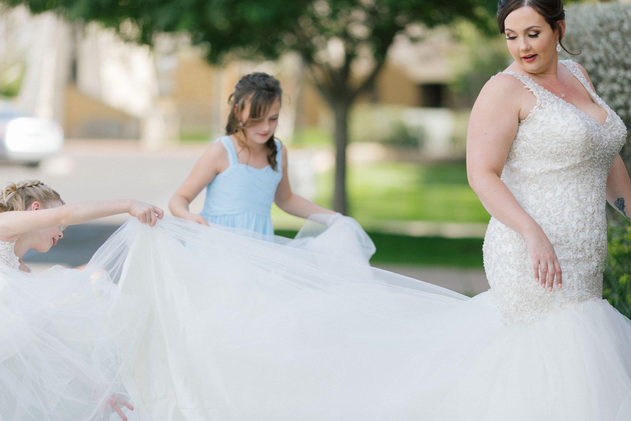 bride and her daughters St Teresa Parish Arizona
