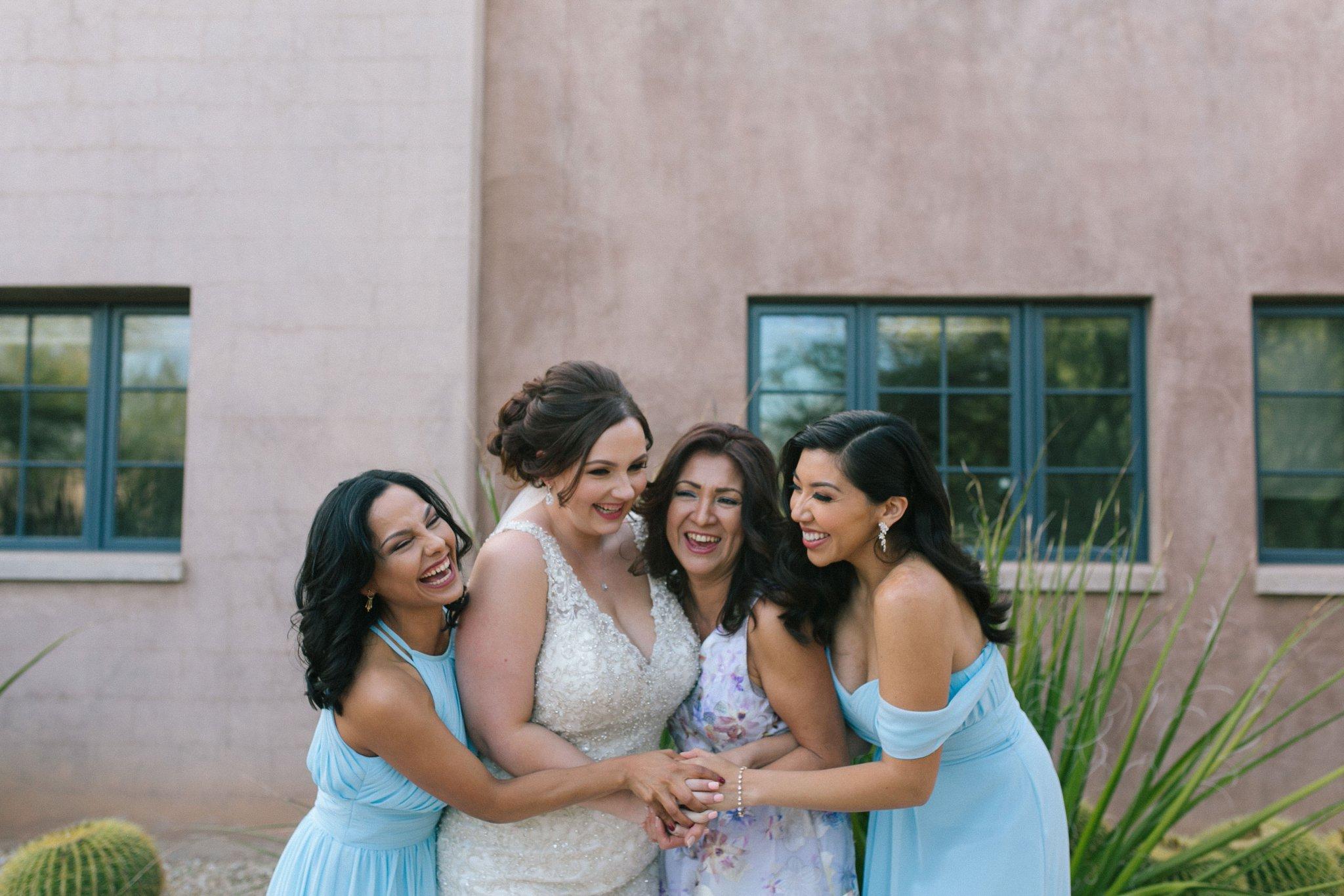 natural genuine joyful documentary wedding photos Phoenix