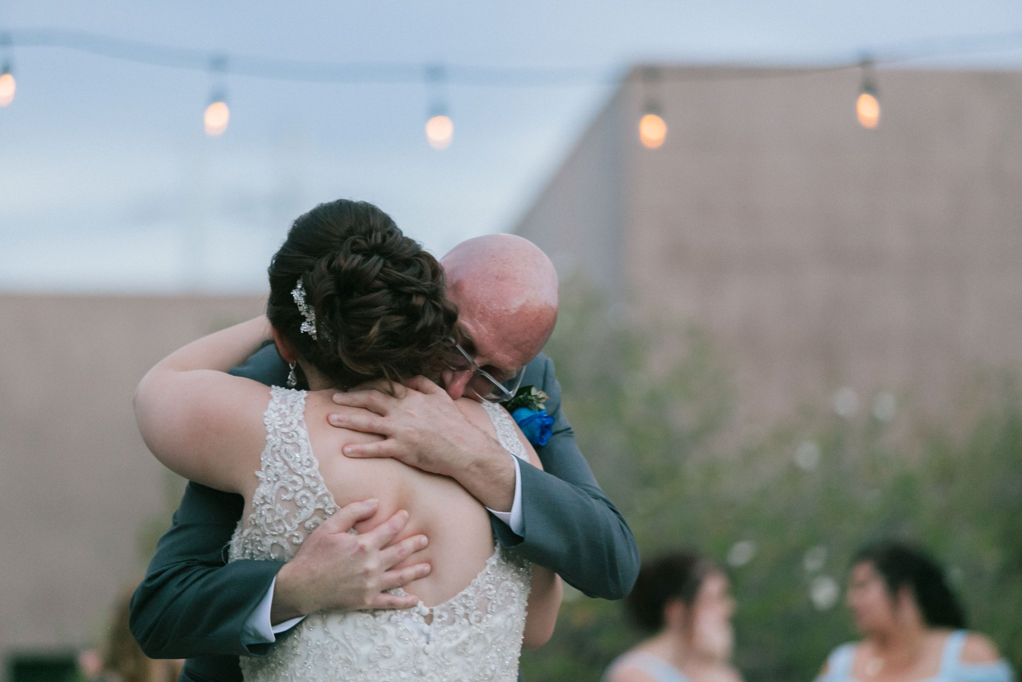 Desert Botanical Garden outdoor reception father daughter dance