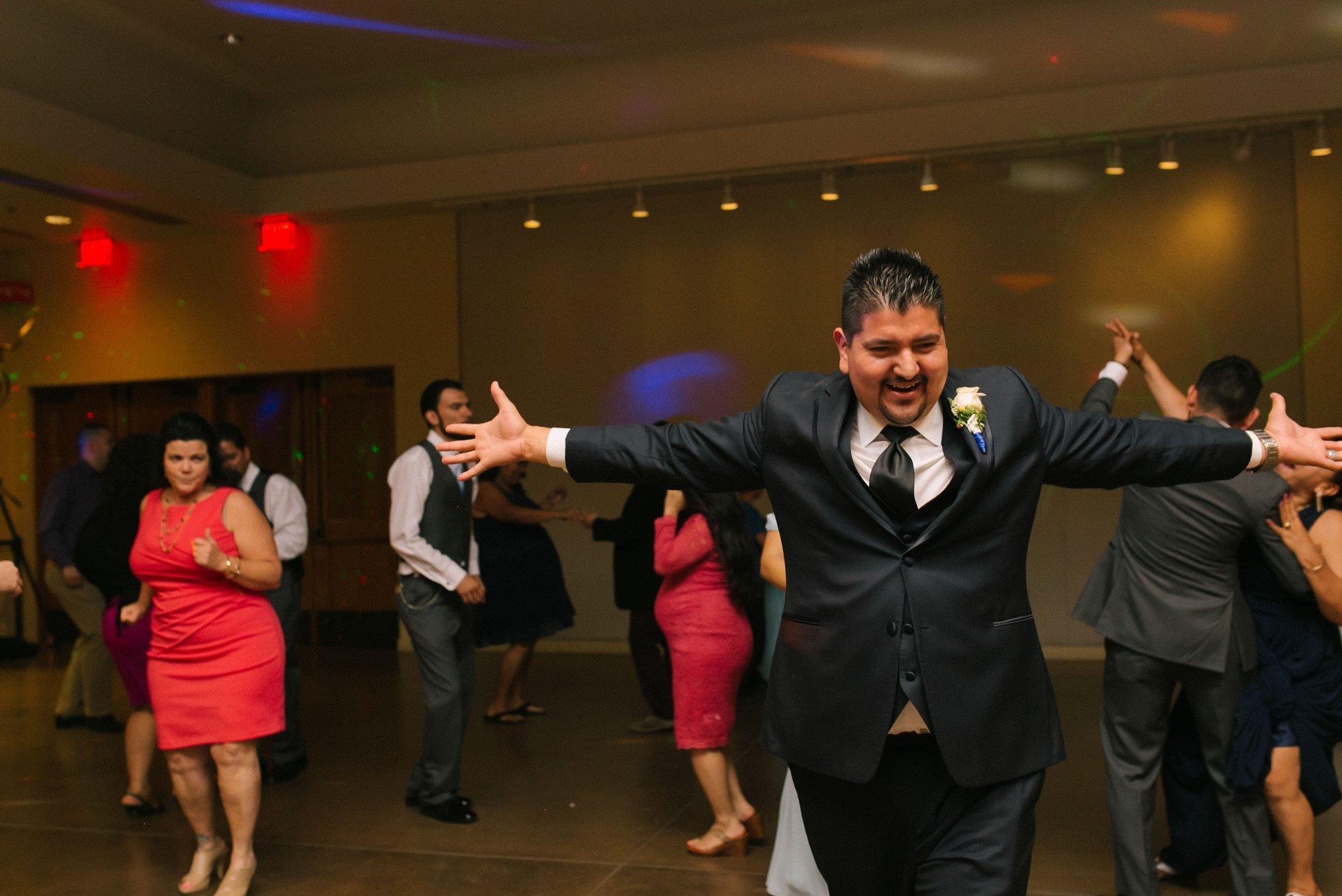Desert Botanical Gardens reception dancing