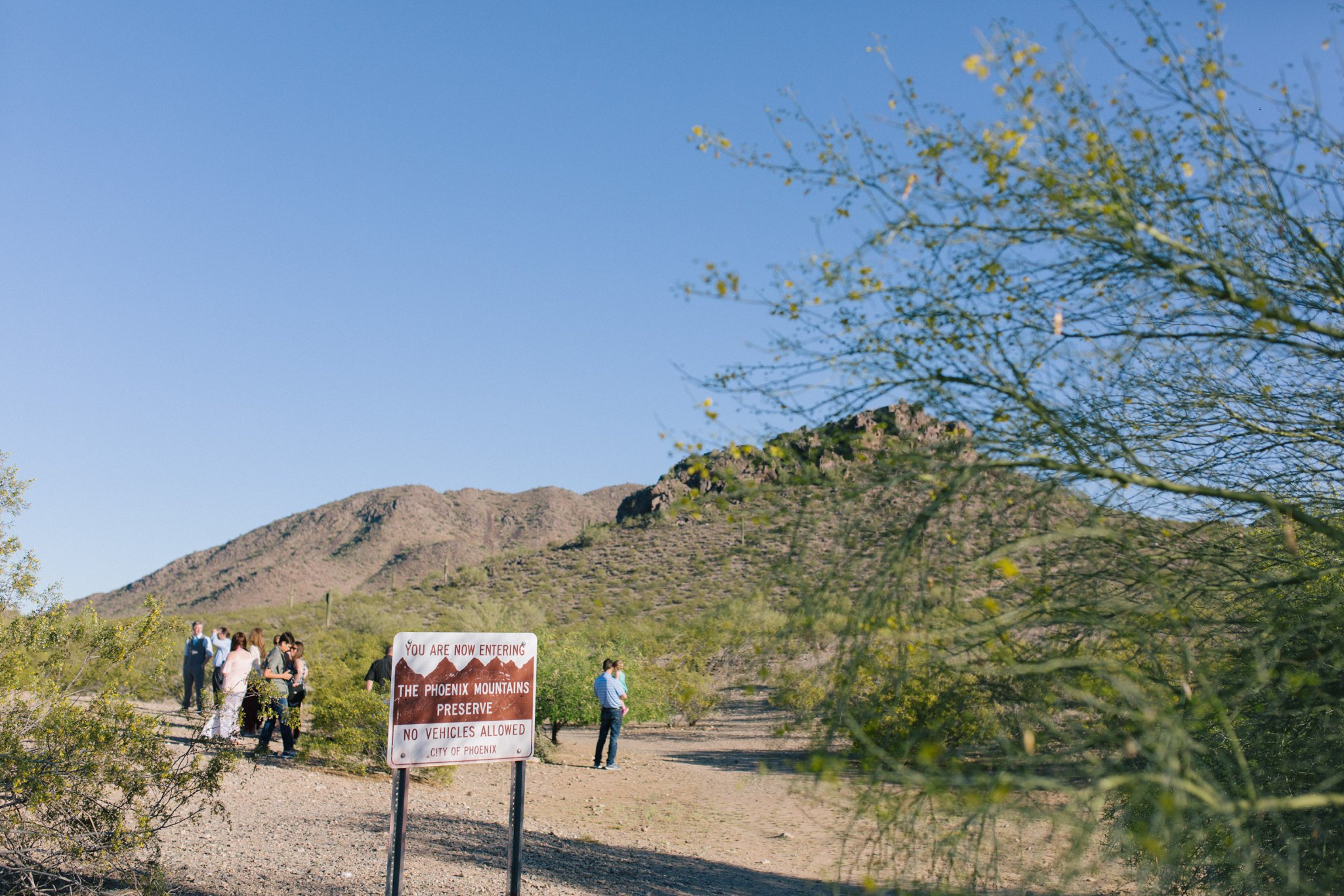 Phoenix Mountains Preserve elopement