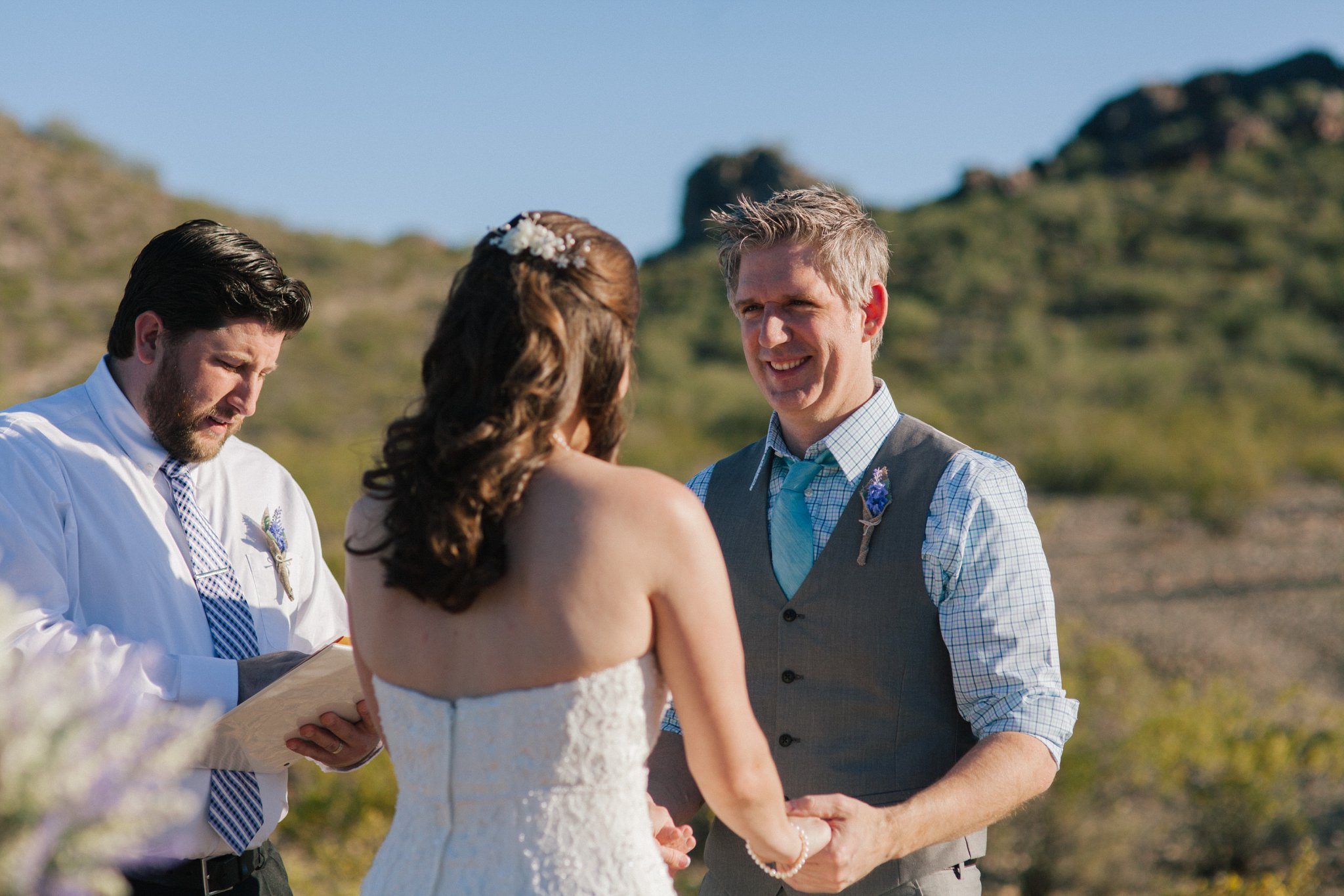 Phoenix Mountains Preserve elopement photographer