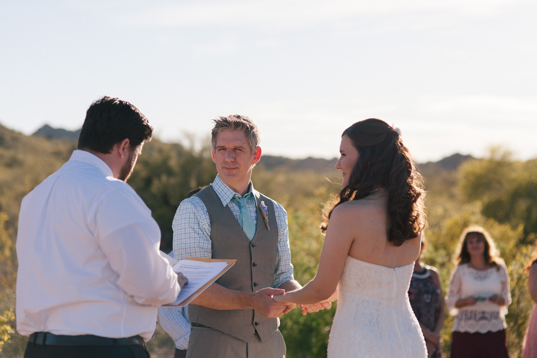 Phoenix Mountains Preserve elopement photos