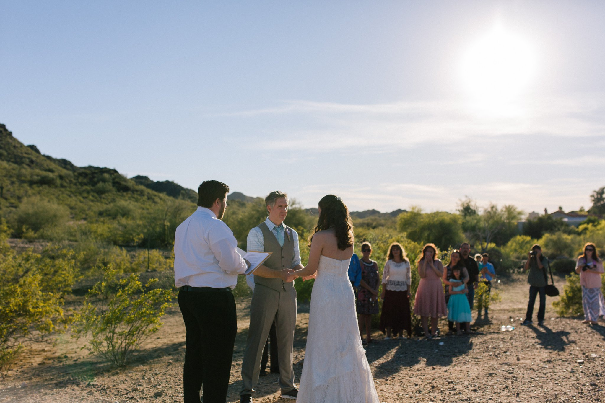 Phoenix mountain preserve elopement