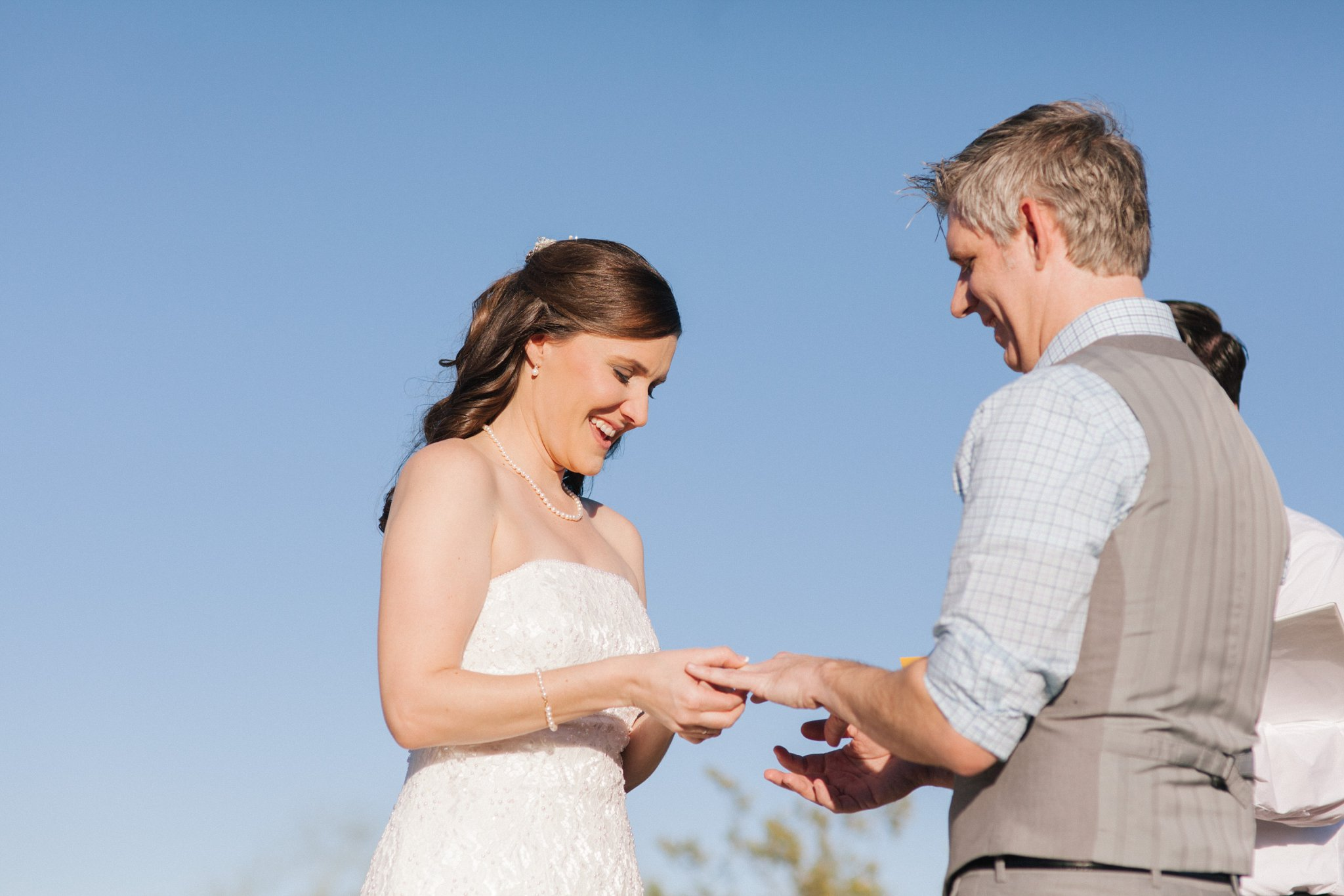 Phoenix Mountains Preserve small wedding ceremony