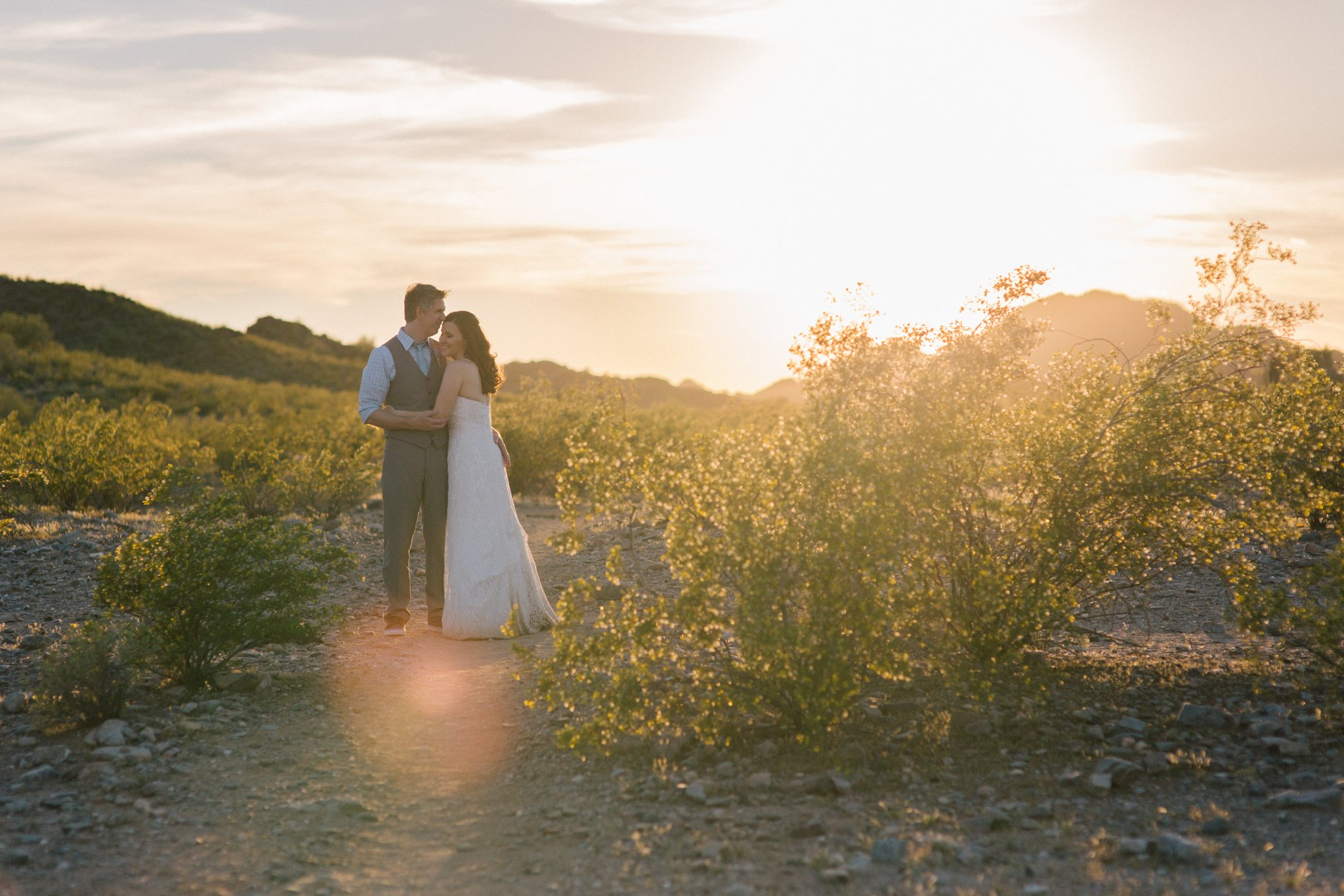 Phoenix outdoor mountain desert elopement photographer