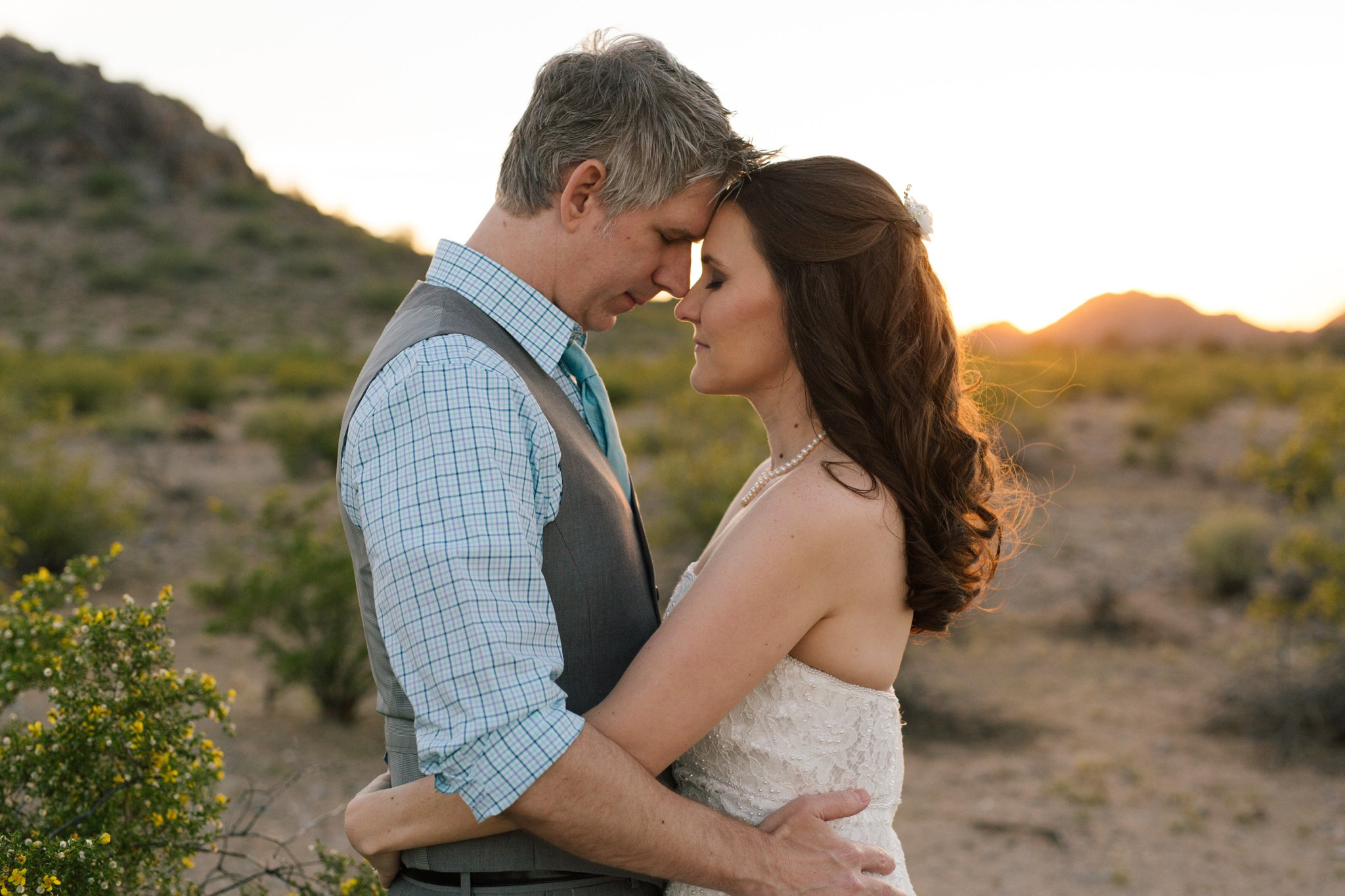 elopement in Phoenix Mountains Preserve