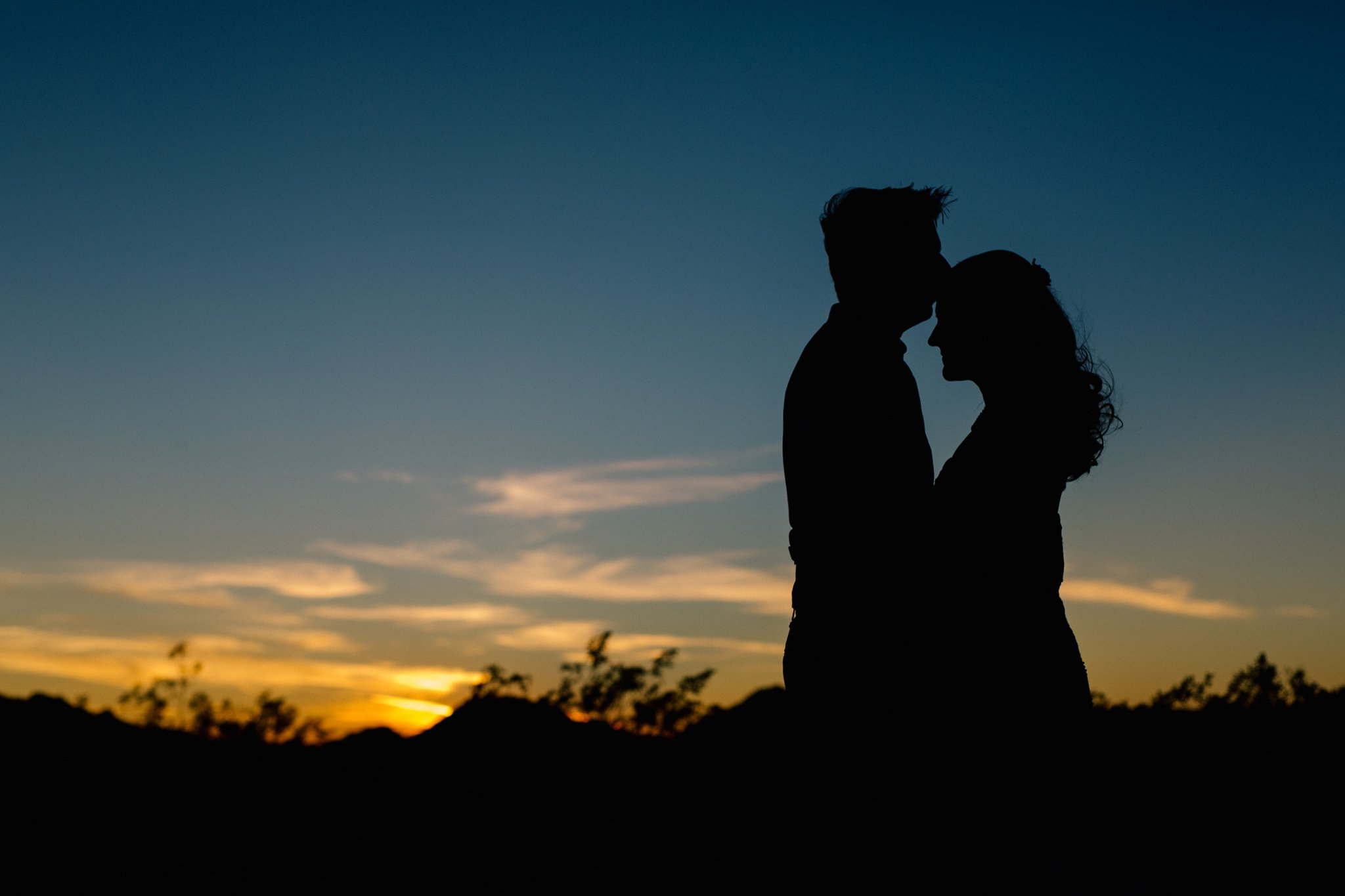 elopement in Phoenix mountains