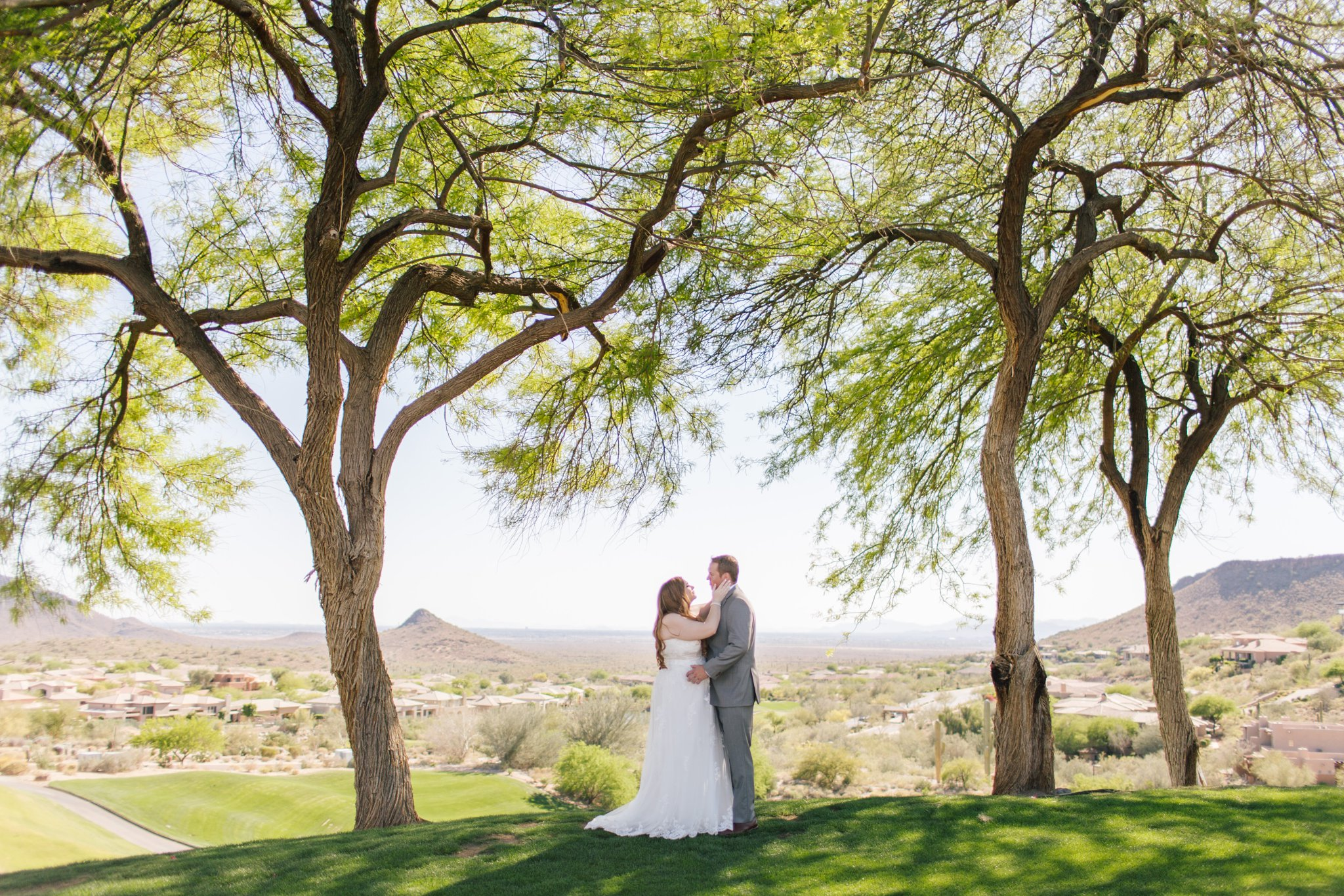 Eagle Mountain Golf Resort Wedding Fountain Hills Photographer