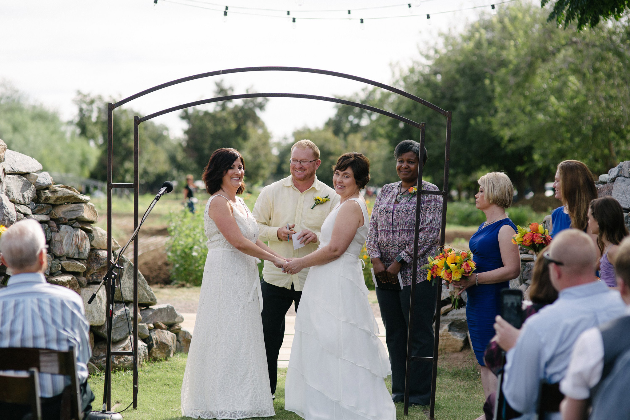 documentary wedding photography at Farm at South Mountain