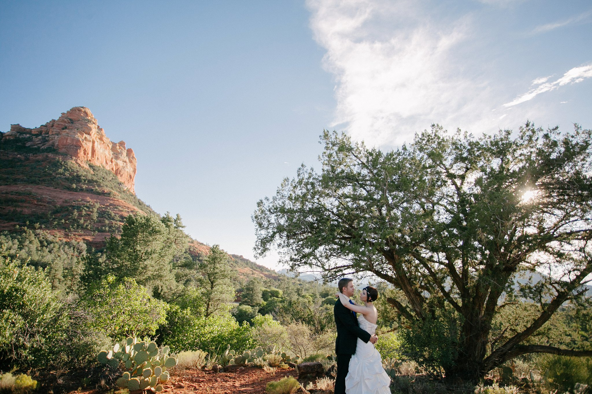 Sedona elopement wedding photographer