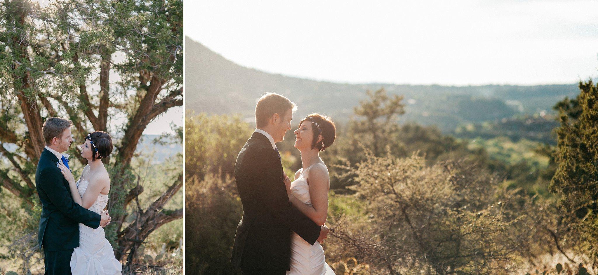candid emotional Sedona elopement portraits