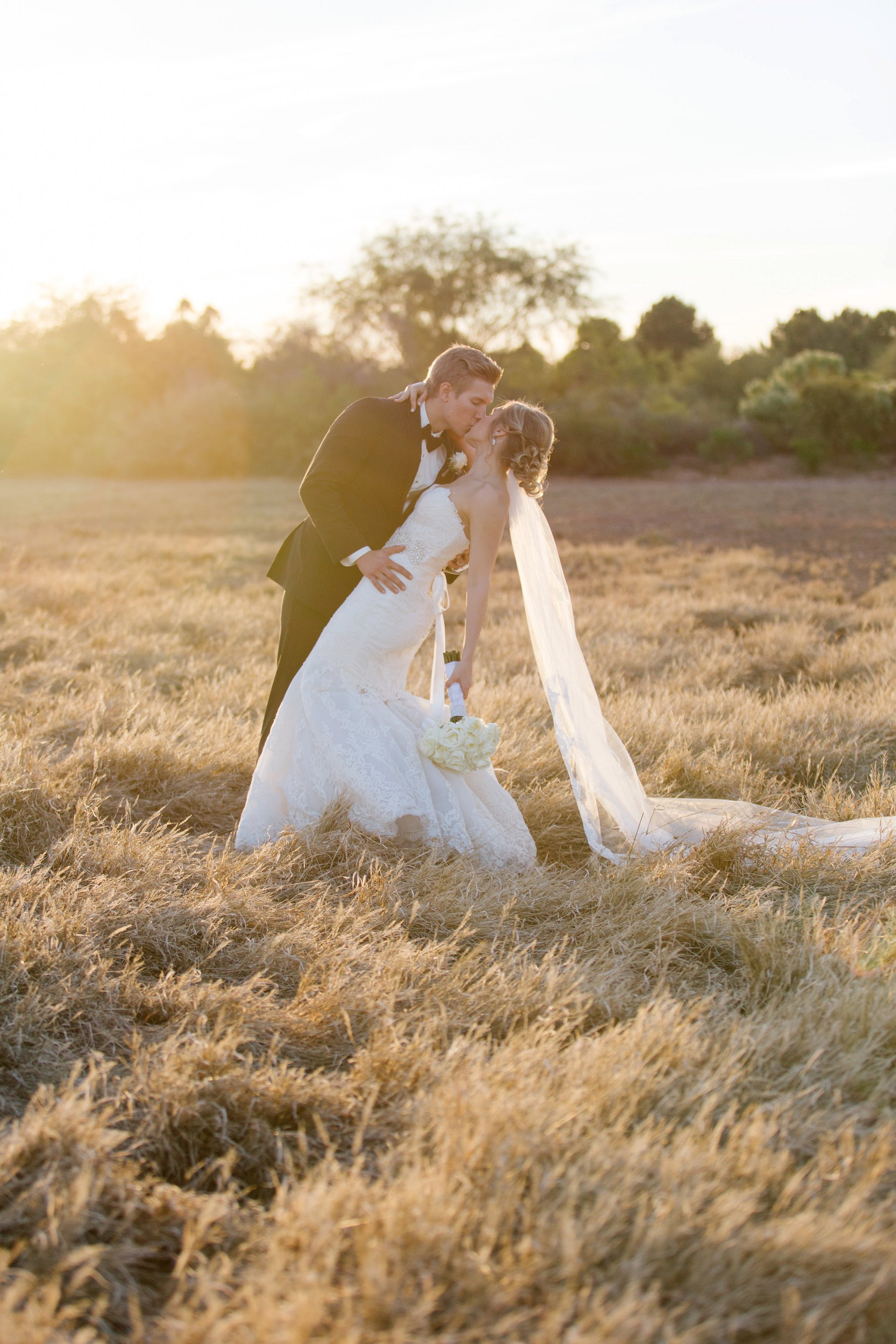 romantic classic Mesa wedding photos