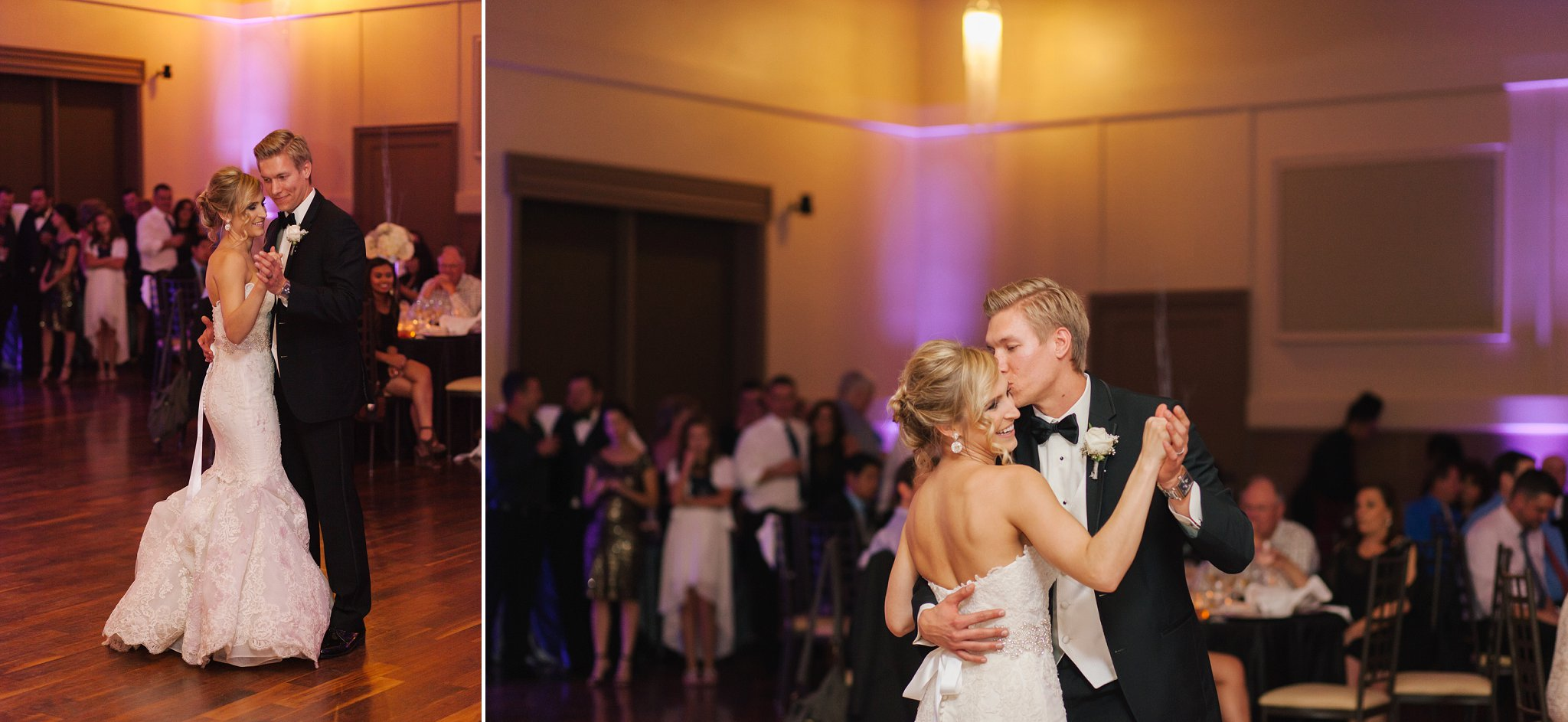 bride & groom first dance at Noah's Event Center Chandler AZ