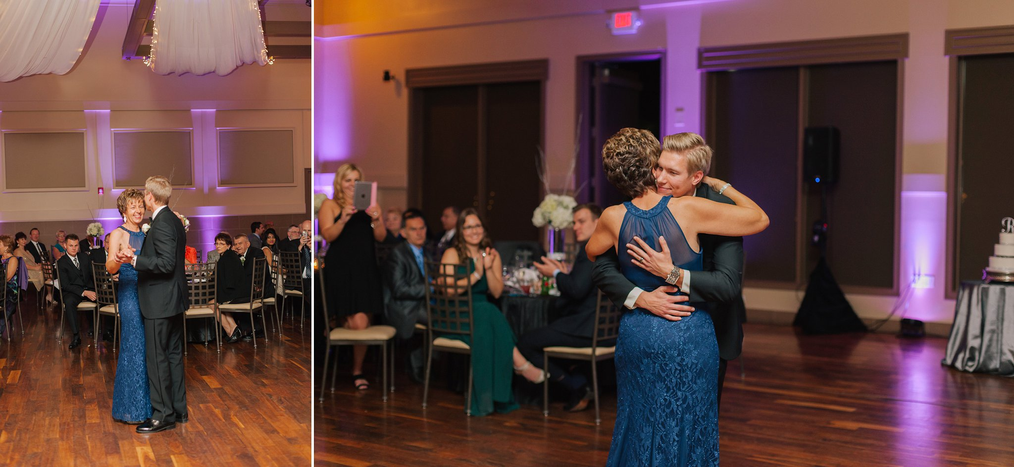 Noah's Chandler wedding photography reception mother son dance