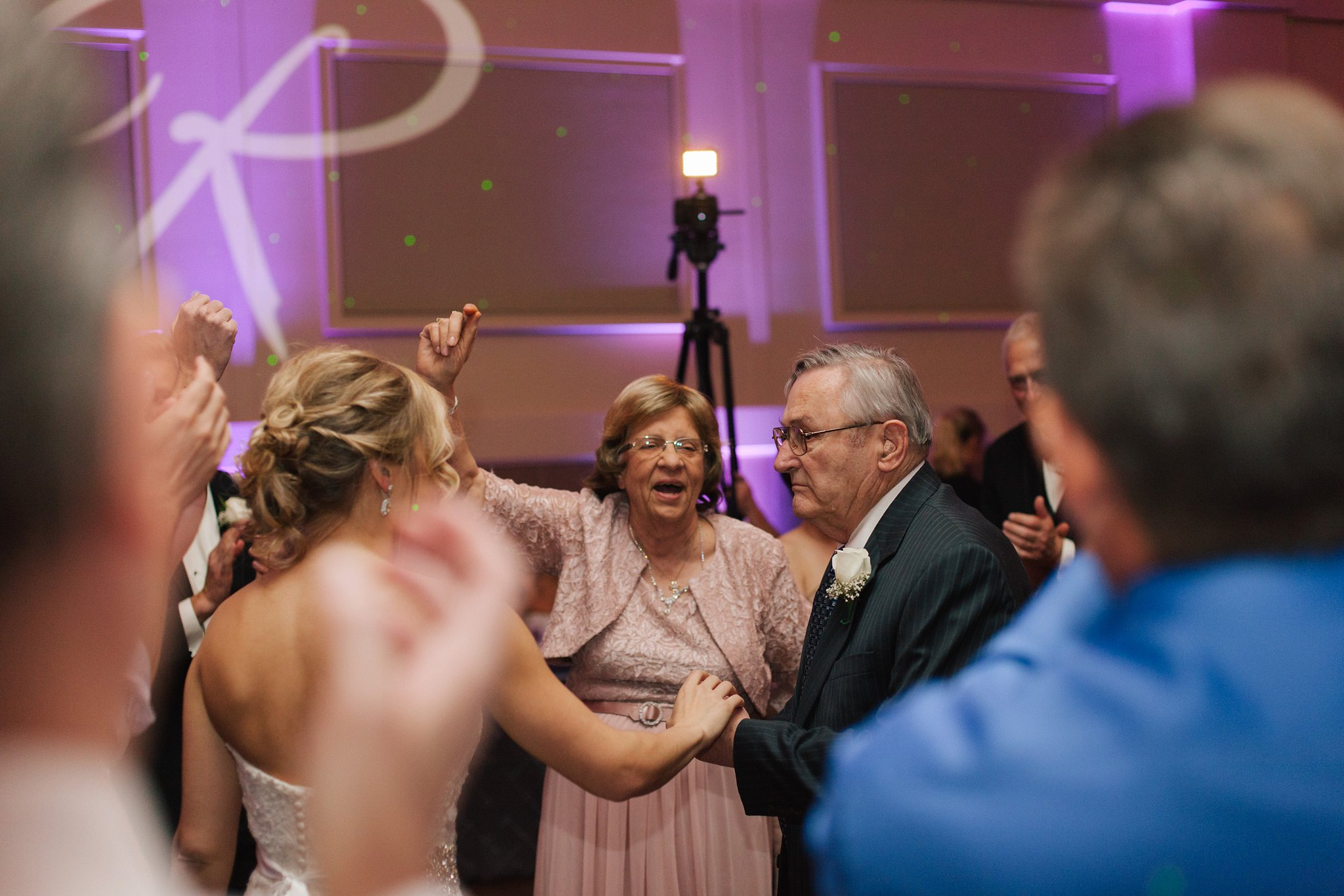 Noah's Chandler wedding reception documentary wedding photographer