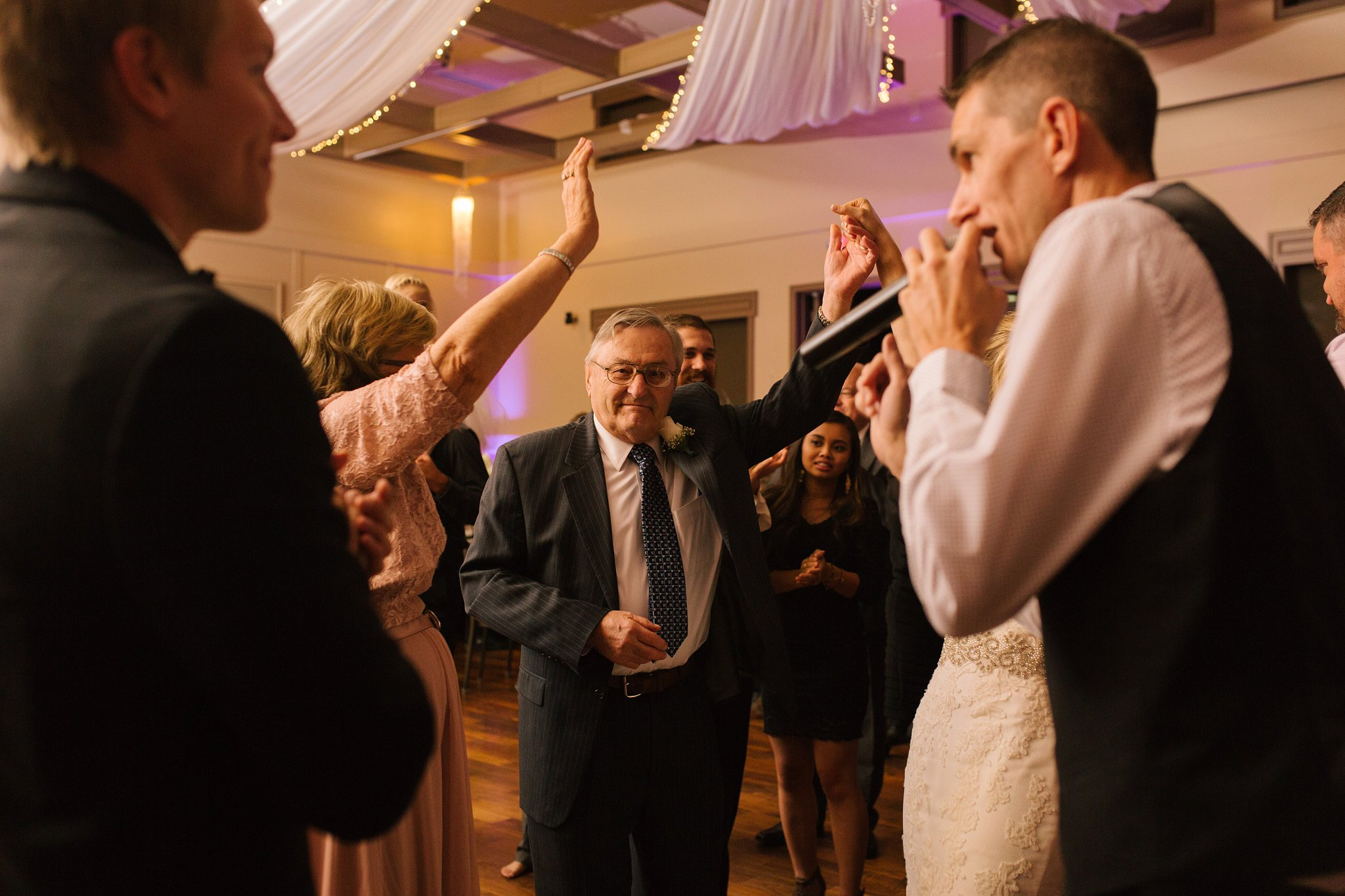 Noah's Chandler wedding reception documentary candid photographer