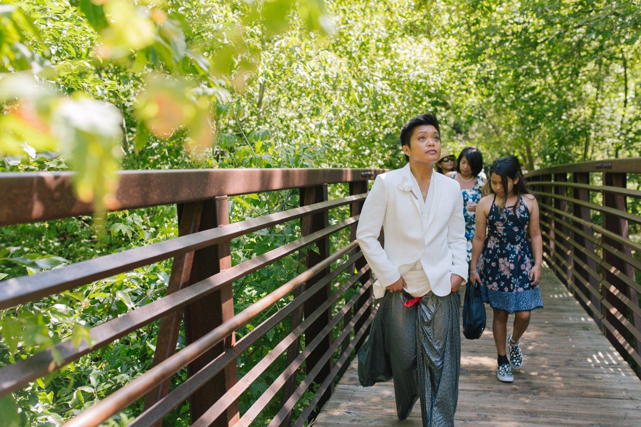 Sedona West Fork Trail elopement